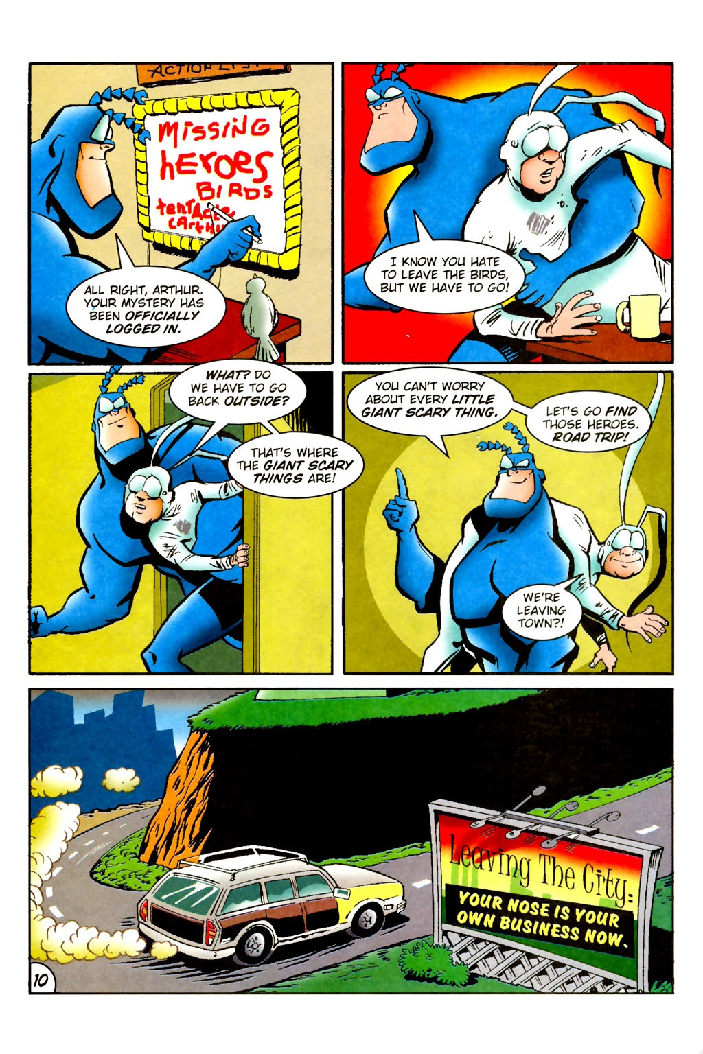 Read online The Tick: Days of Drama comic -  Issue #1 - 14