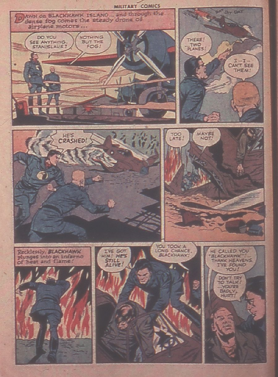Military Comics issue 31 - Page 4