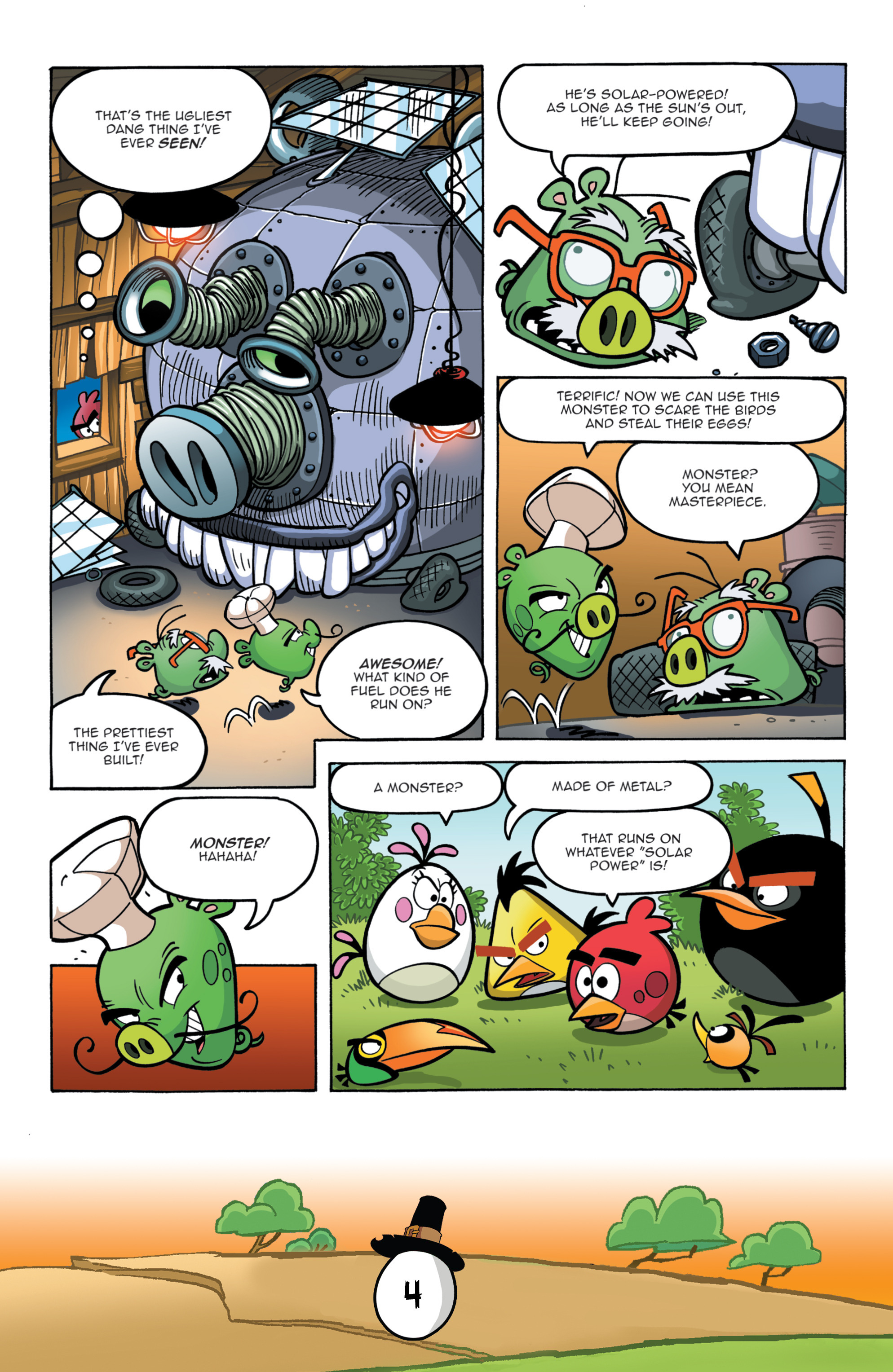 Read online Angry Birds Comics (2016) comic -  Issue #11 - 6