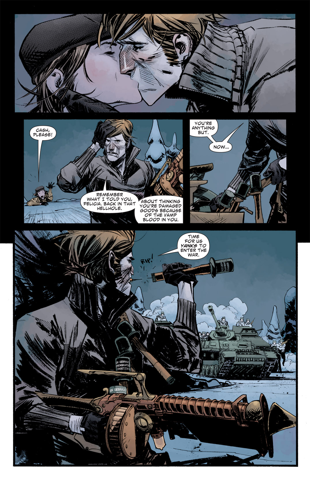 Read online American Vampire: Survival of the Fittest comic -  Issue #5 - 11