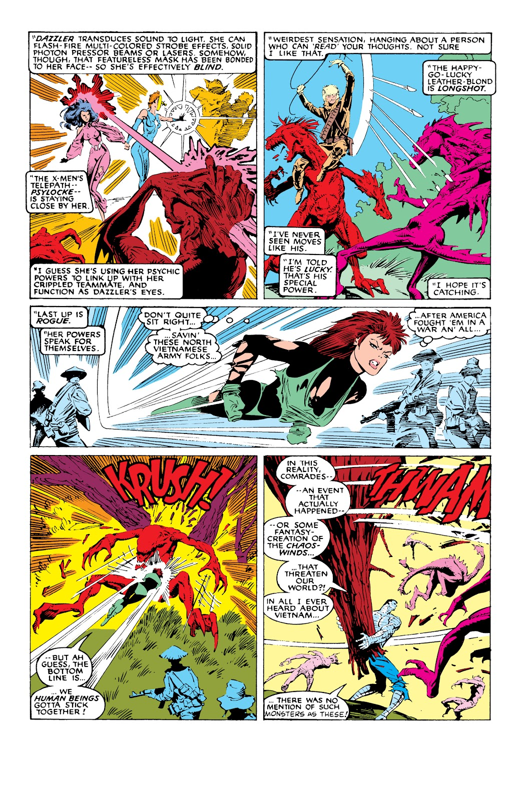 Read online X-Men Milestones: Fall of the Mutants comic -  Issue # TPB (Part 1) - 71