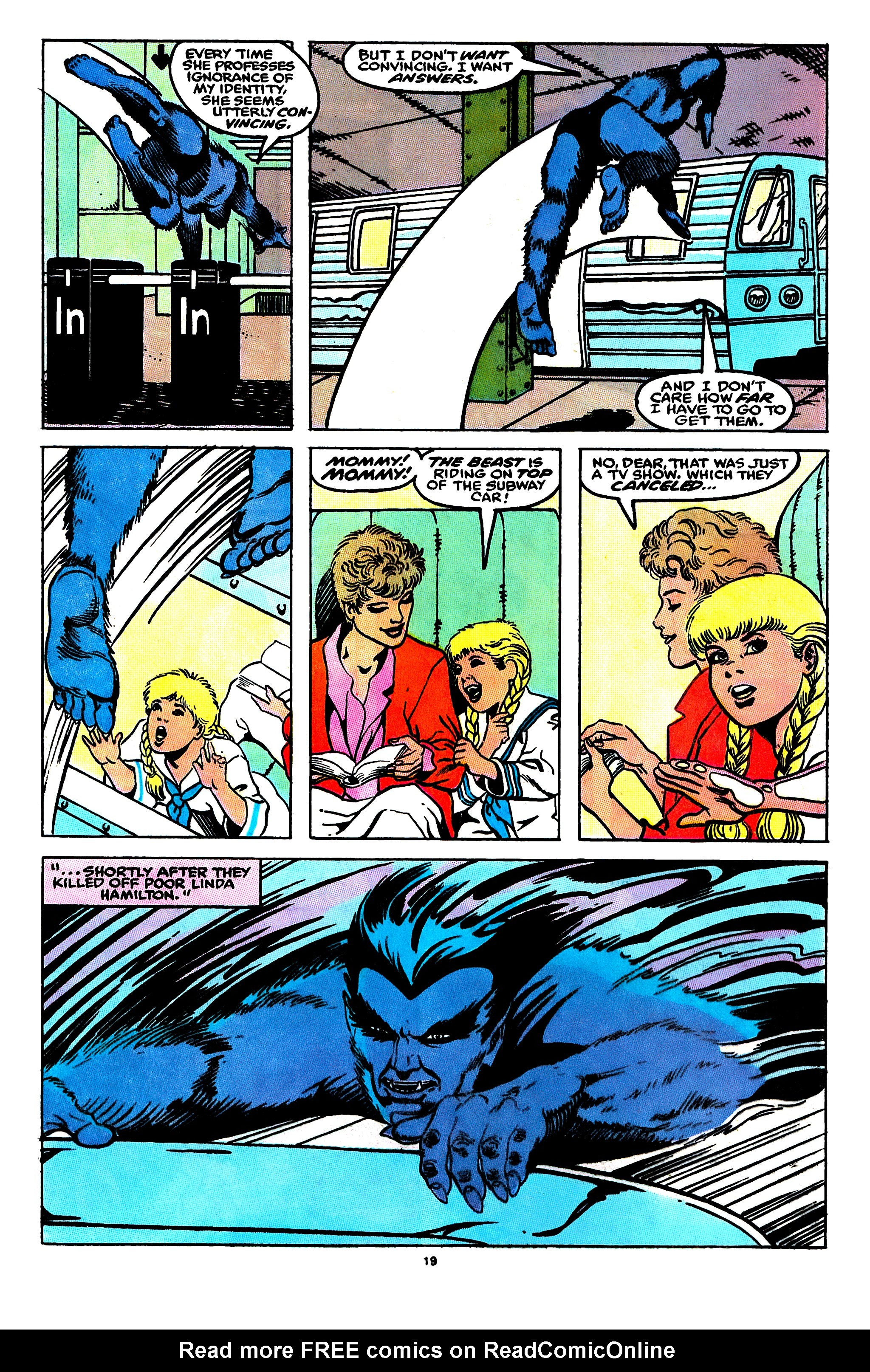 Read online X-Factor (1986) comic -  Issue #55 - 16