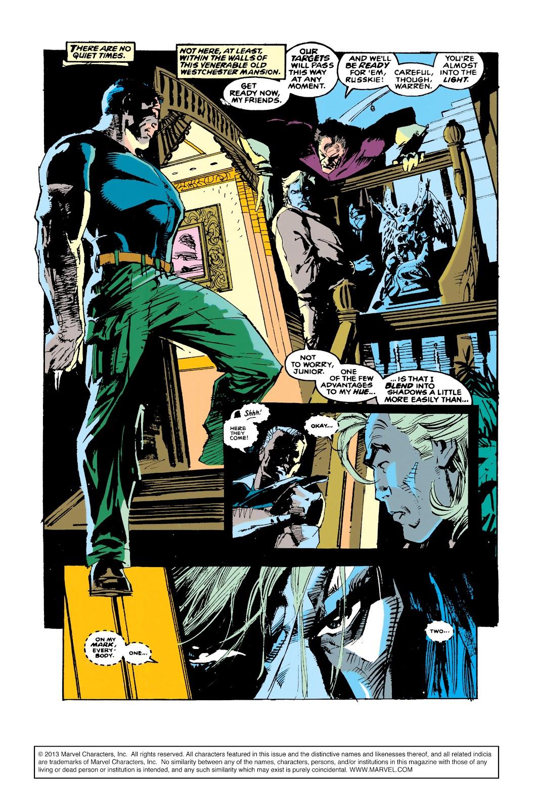 Uncanny X-Men (1963) issue 288 - Page 2