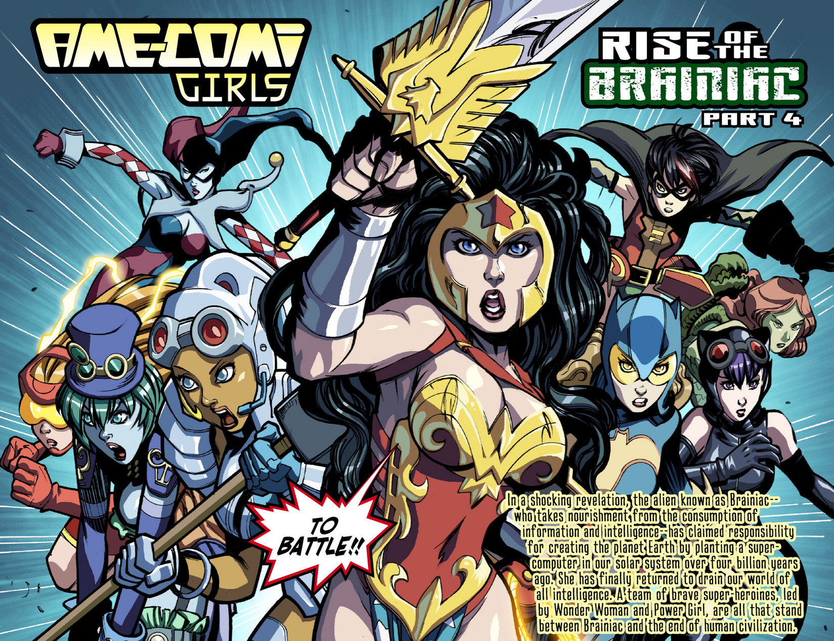 Read online Ame-Comi Girls comic -  Issue #4 - 3