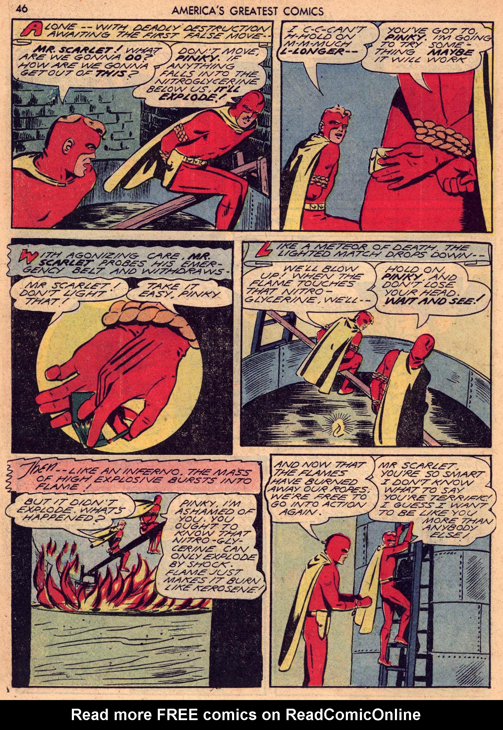 Read online America's Greatest Comics comic -  Issue #7 - 45