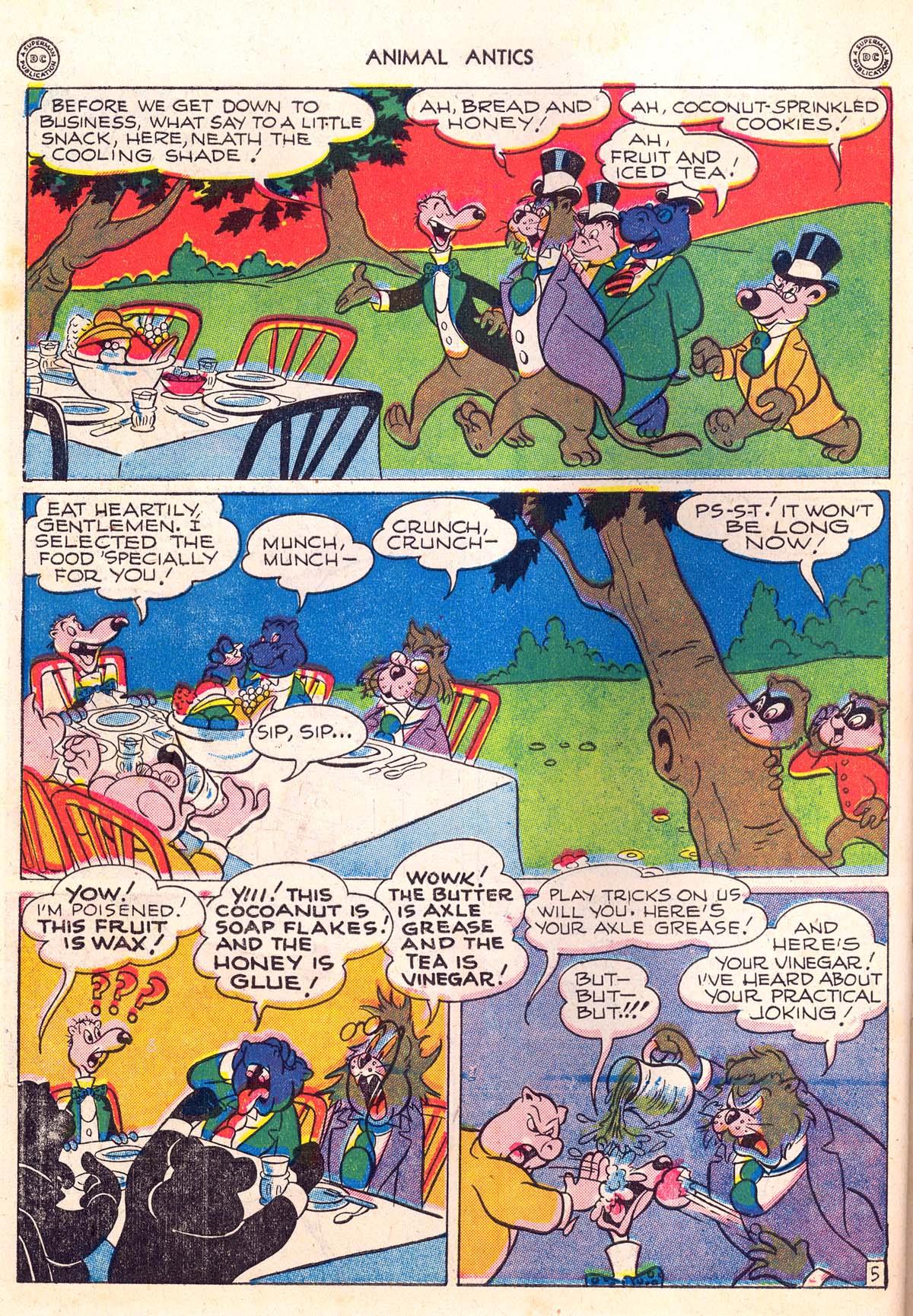 Read online Animal Antics comic -  Issue #5 - 48
