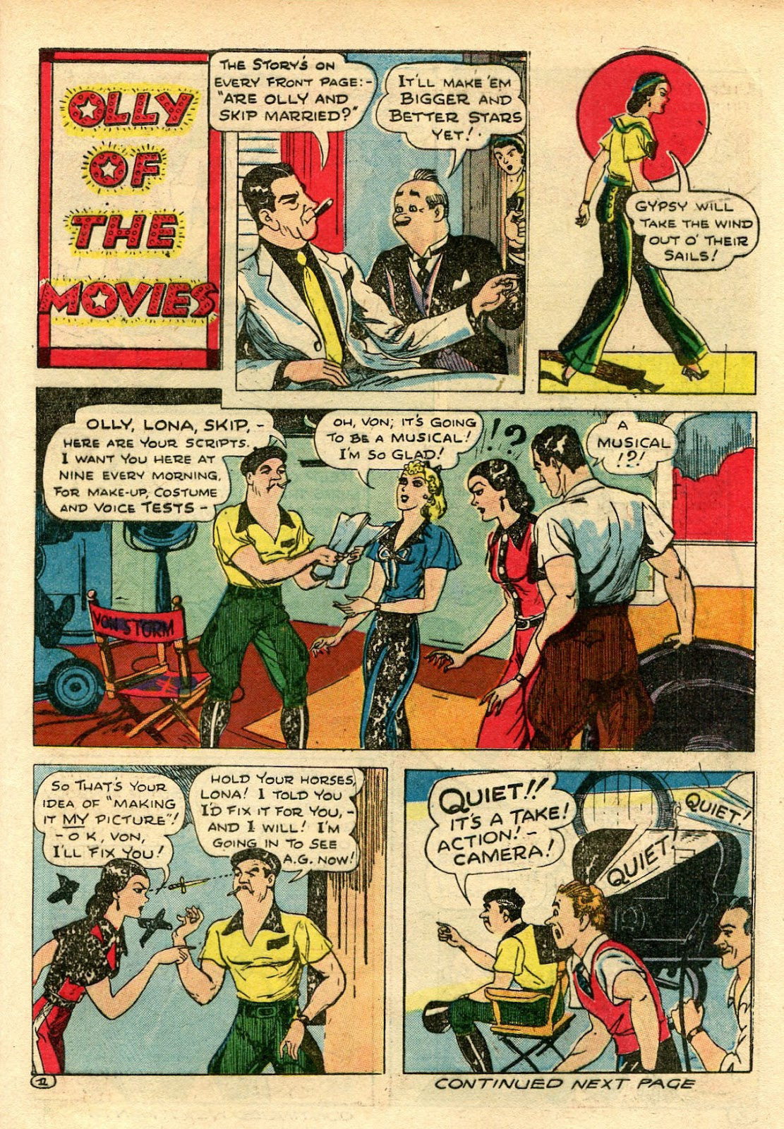 Read online Famous Funnies comic -  Issue #106 - 57