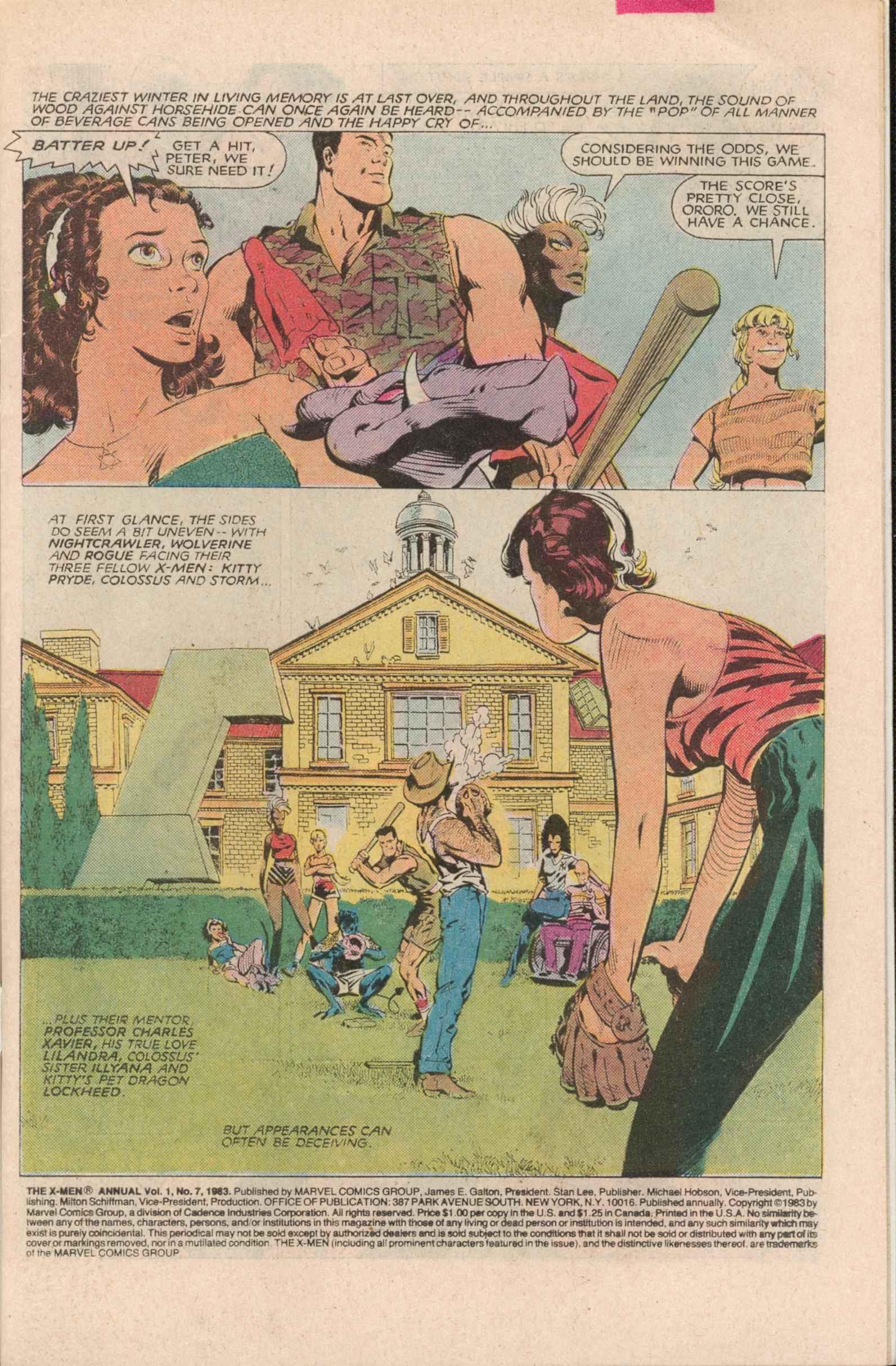 Read online Uncanny X-Men (1963) comic -  Issue # _Annual 7 - 2
