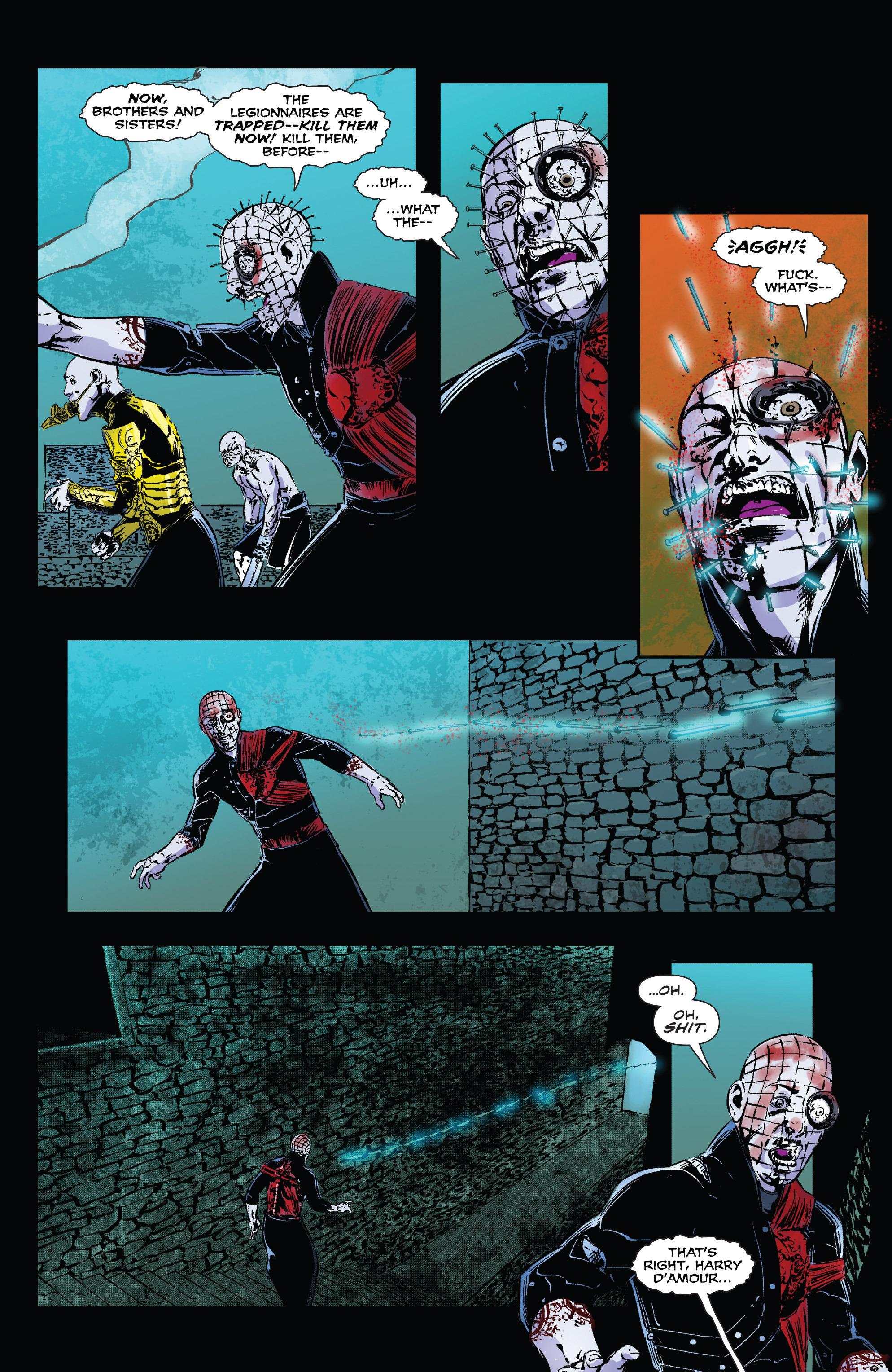 Read online Clive Barker's Hellraiser: The Dark Watch comic -  Issue # TPB 3 - 124