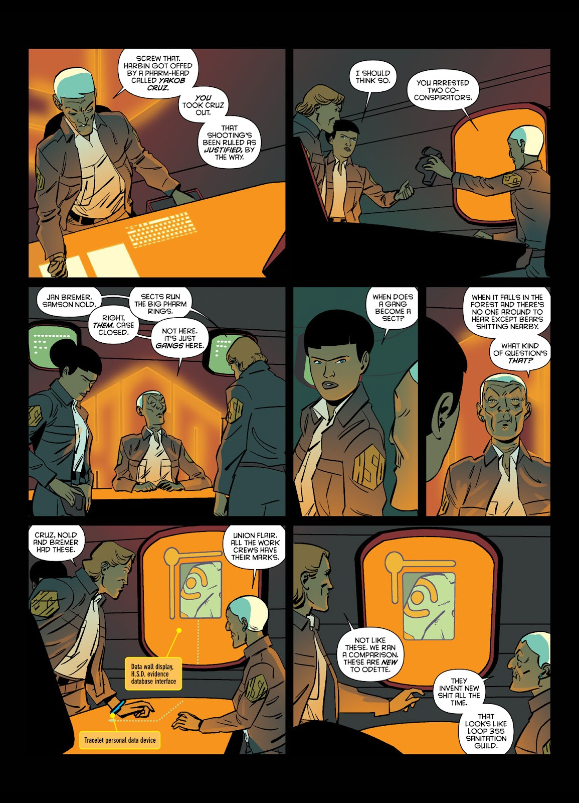 Read online Brink comic -  Issue # TPB 1 - 12