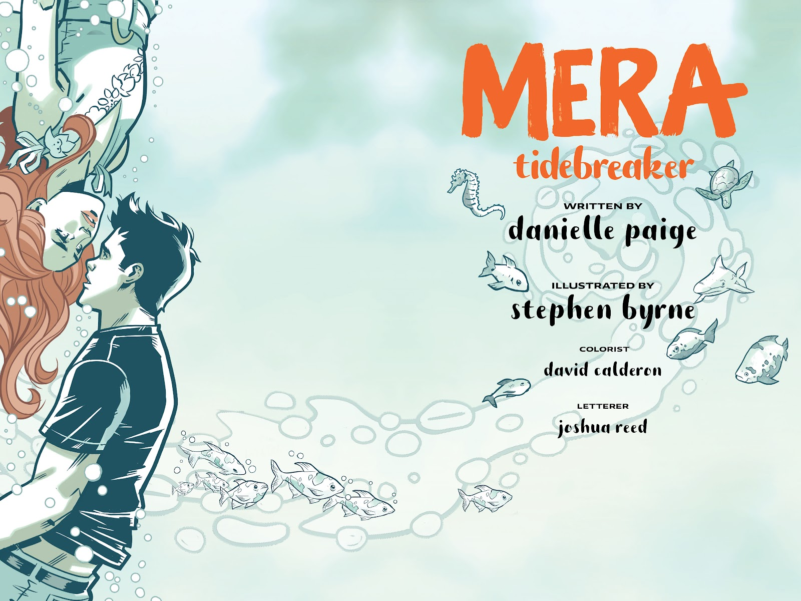 Read online Mera: Tidebreaker comic -  Issue # TPB (Part 1) - 3