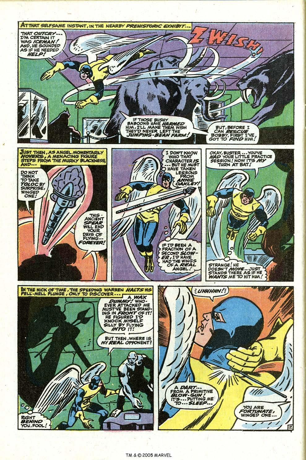 Read online Uncanny X-Men (1963) comic -  Issue #73 - 28