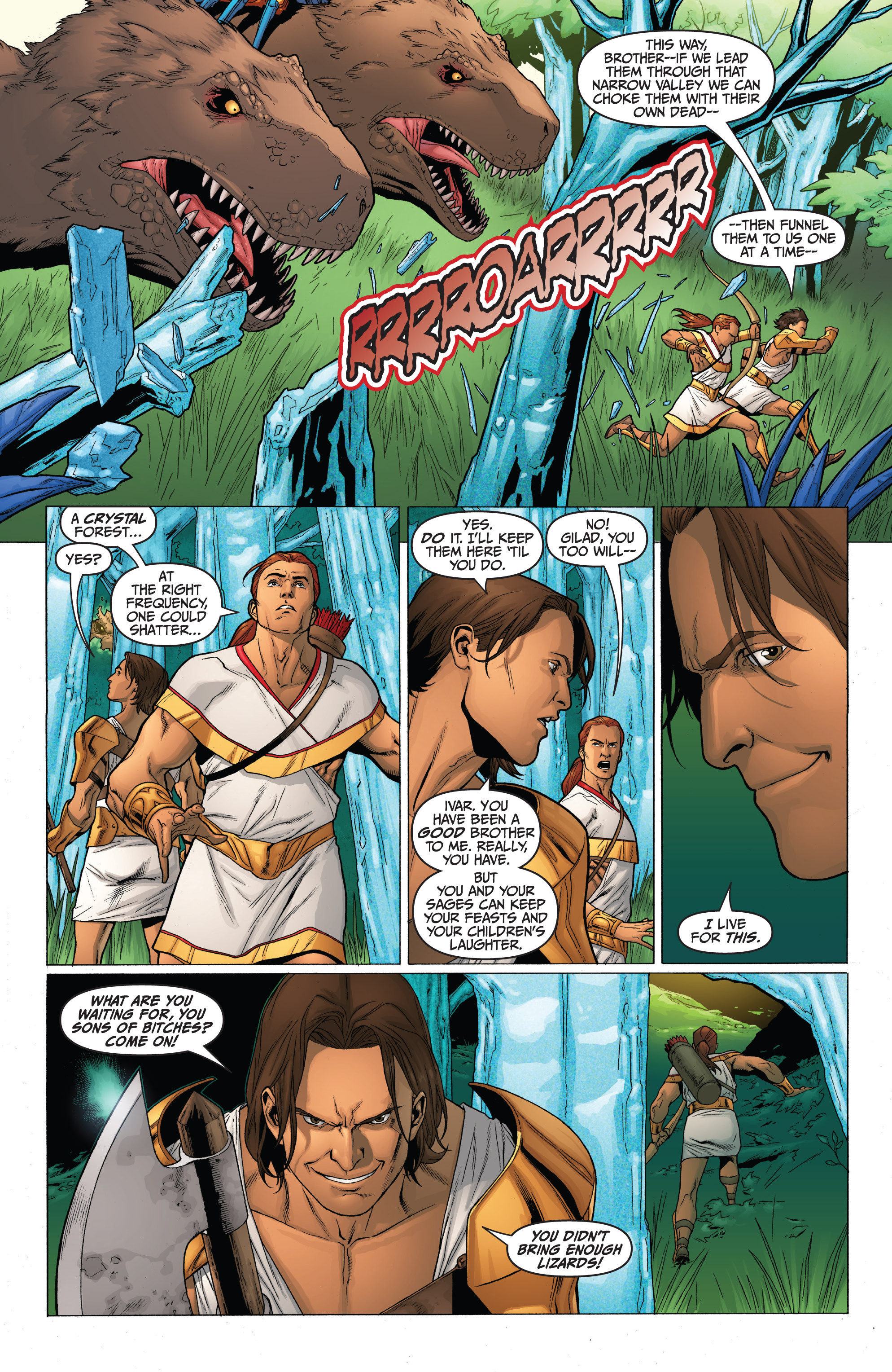 Read online Archer and Armstrong comic -  Issue #0 - 17