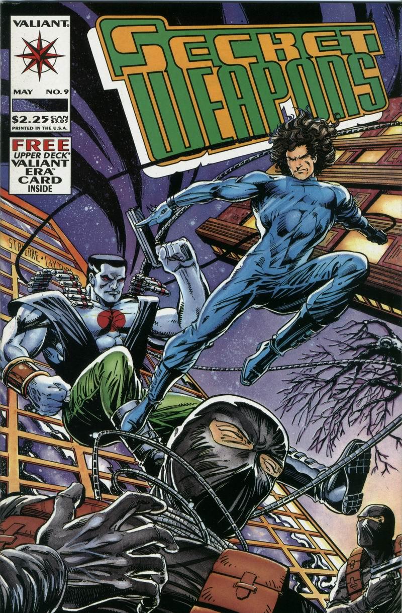 Read online Secret Weapons comic -  Issue #9 - 1