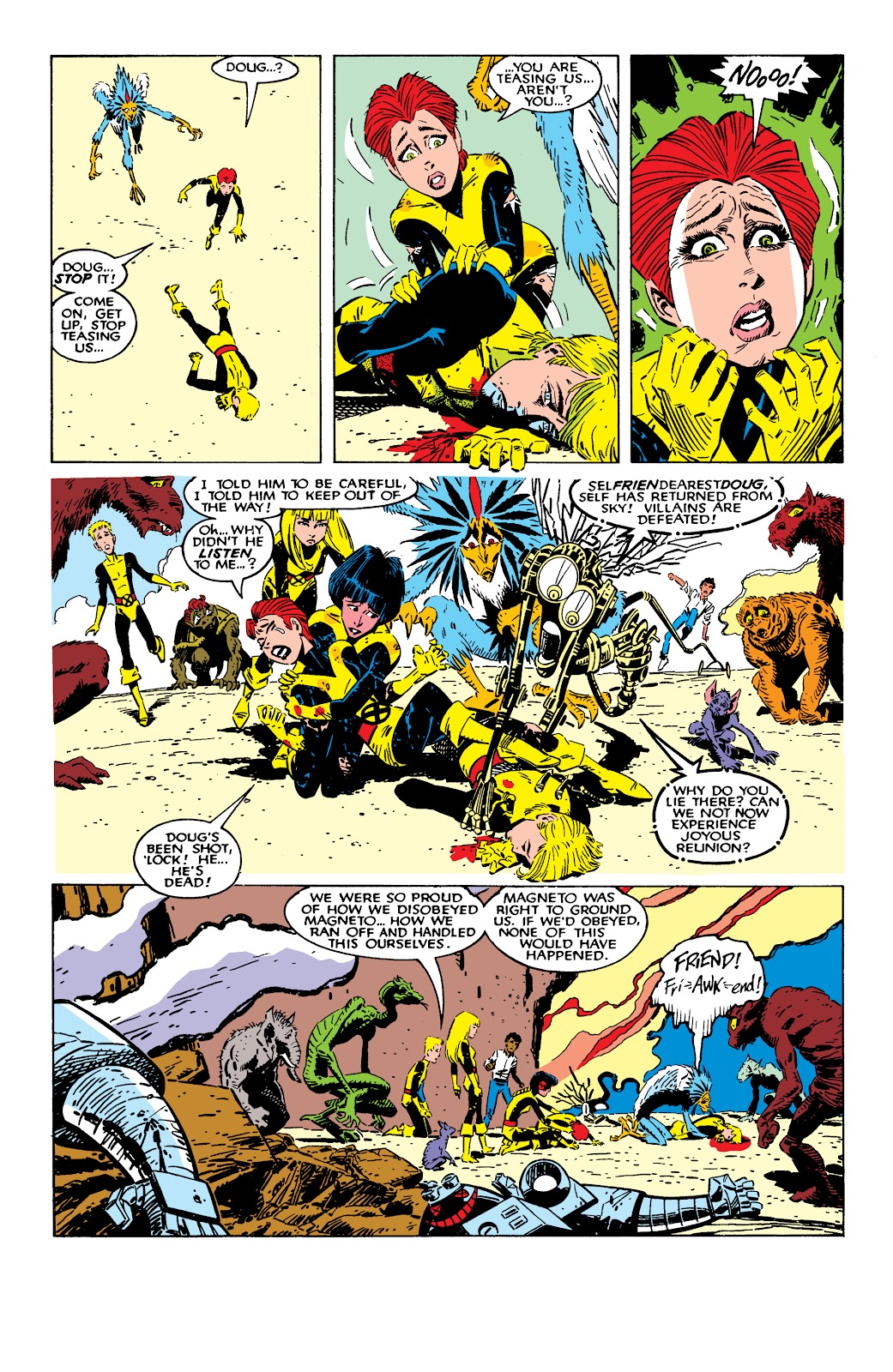 Read online X-Men Milestones: Fall of the Mutants comic -  Issue # TPB (Part 2) - 54