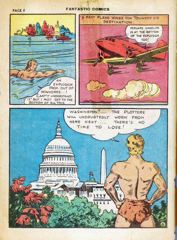 Read online Fantastic Comics comic -  Issue #7 - 8