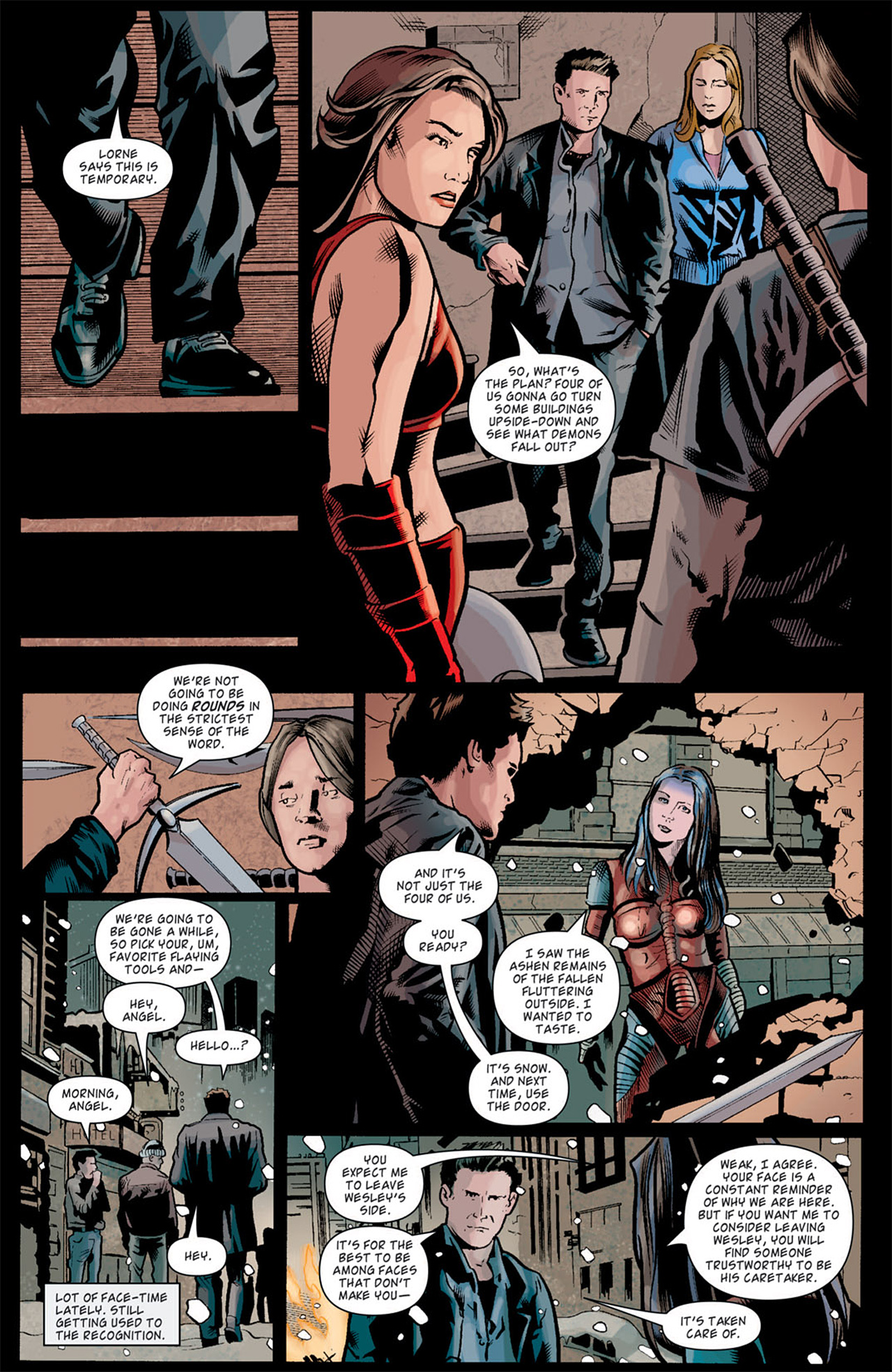 Read online Angel: After The Fall comic -  Issue #10 - 8