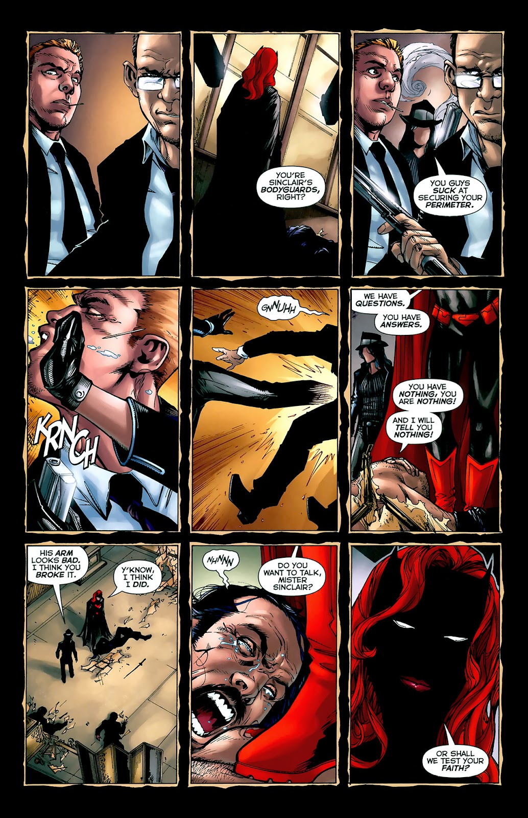 Crime Bible: The Five Lessons of Blood issue 3 - Page 14