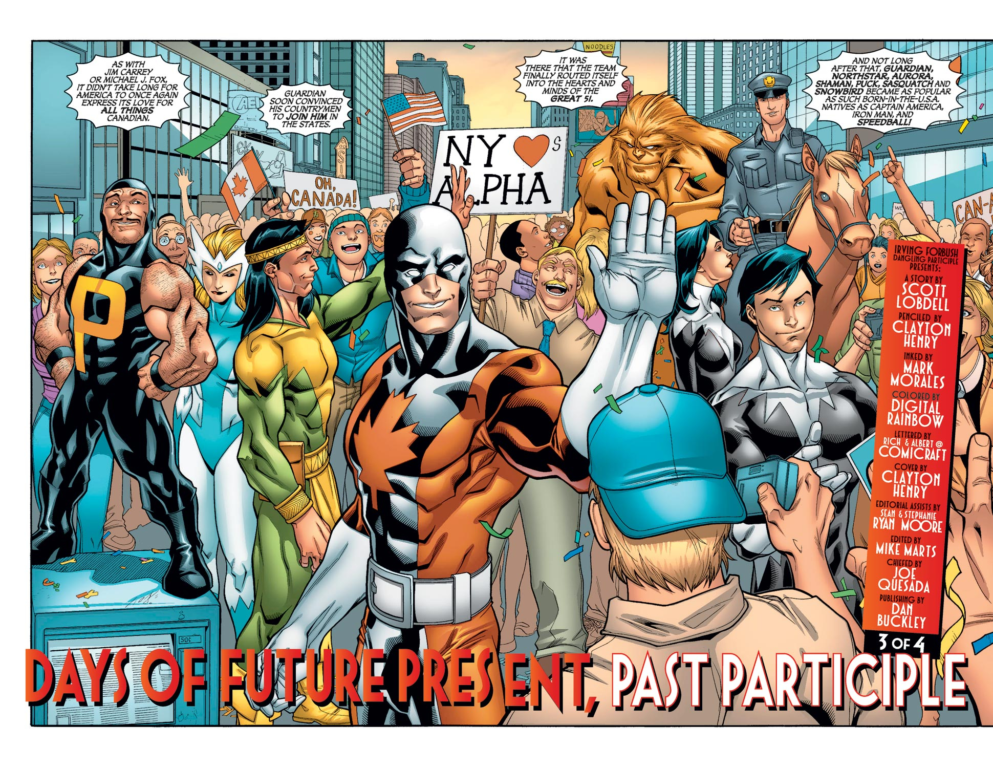 Read online Alpha Flight (2004) comic -  Issue #11 - 4