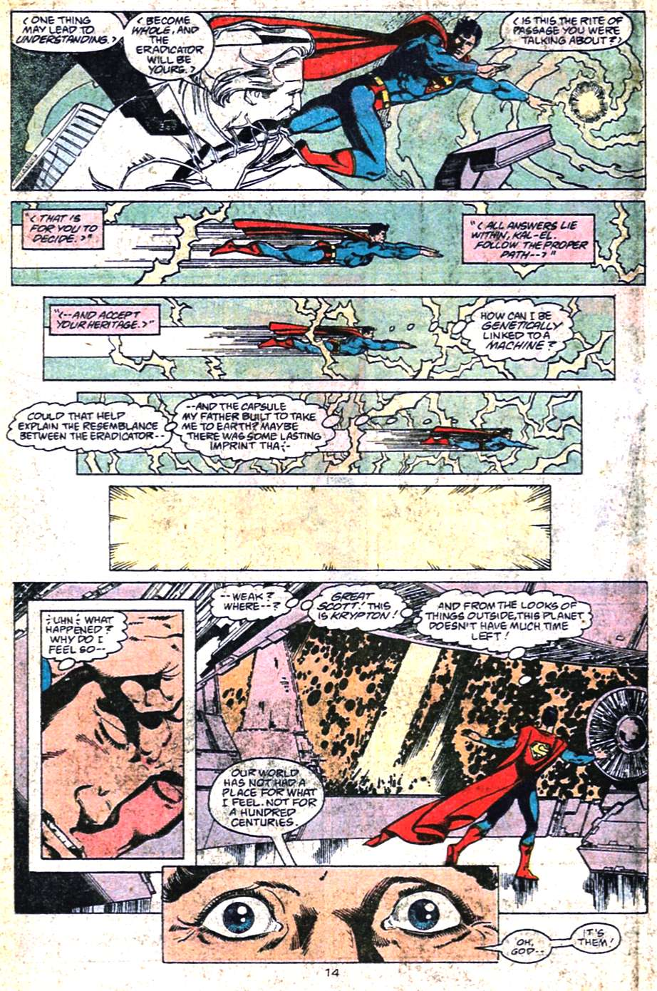 Read online Adventures of Superman (1987) comic -  Issue #461 - 15