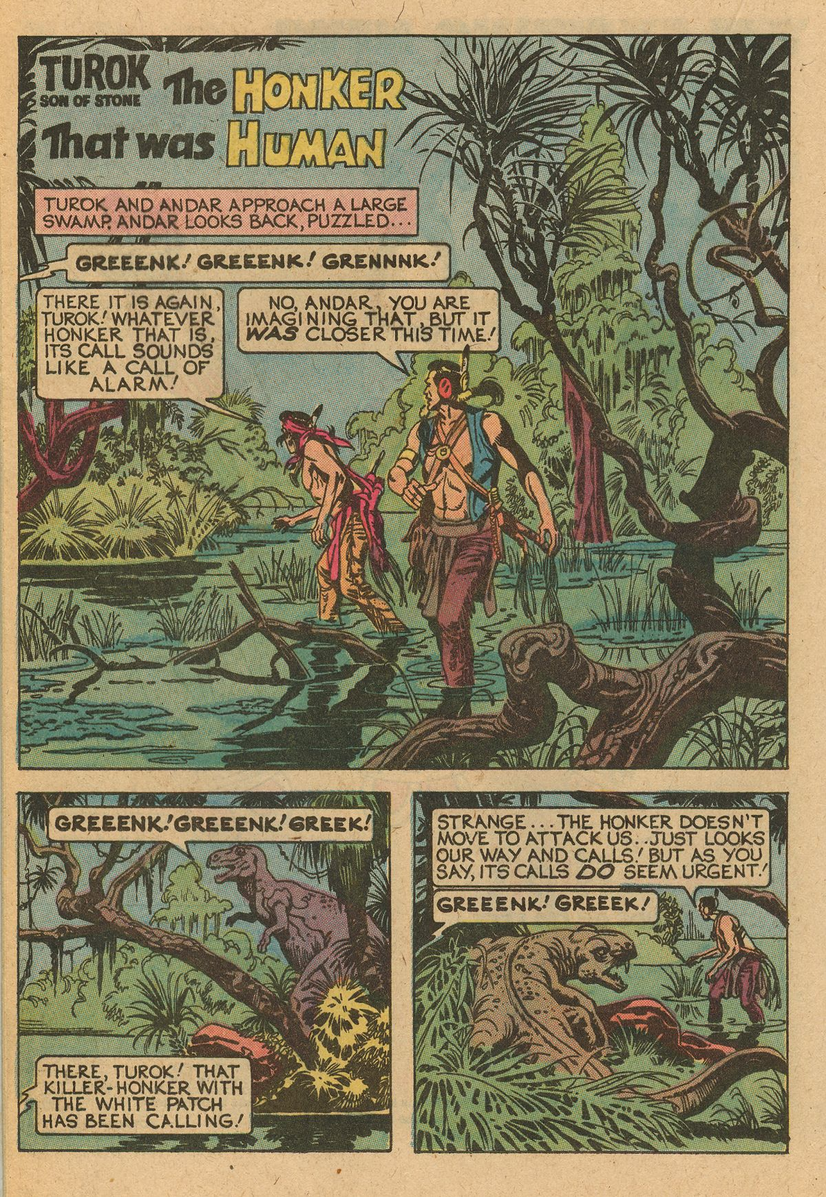 Read online Turok, Son of Stone comic -  Issue #115 - 36