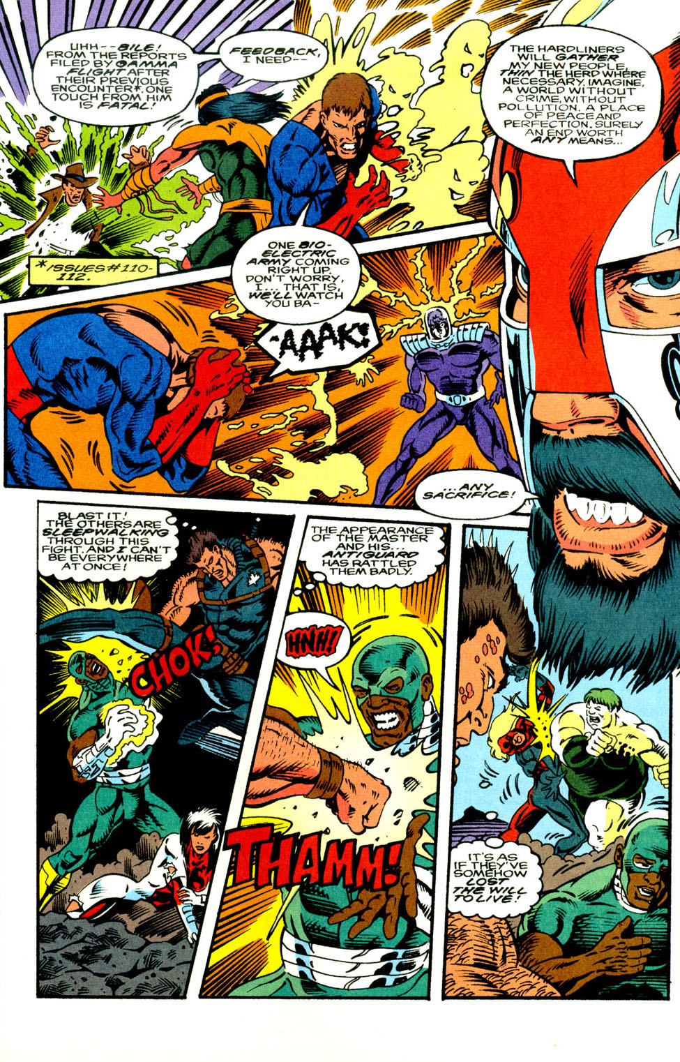 Read online Alpha Flight (1983) comic -  Issue #130 - 10