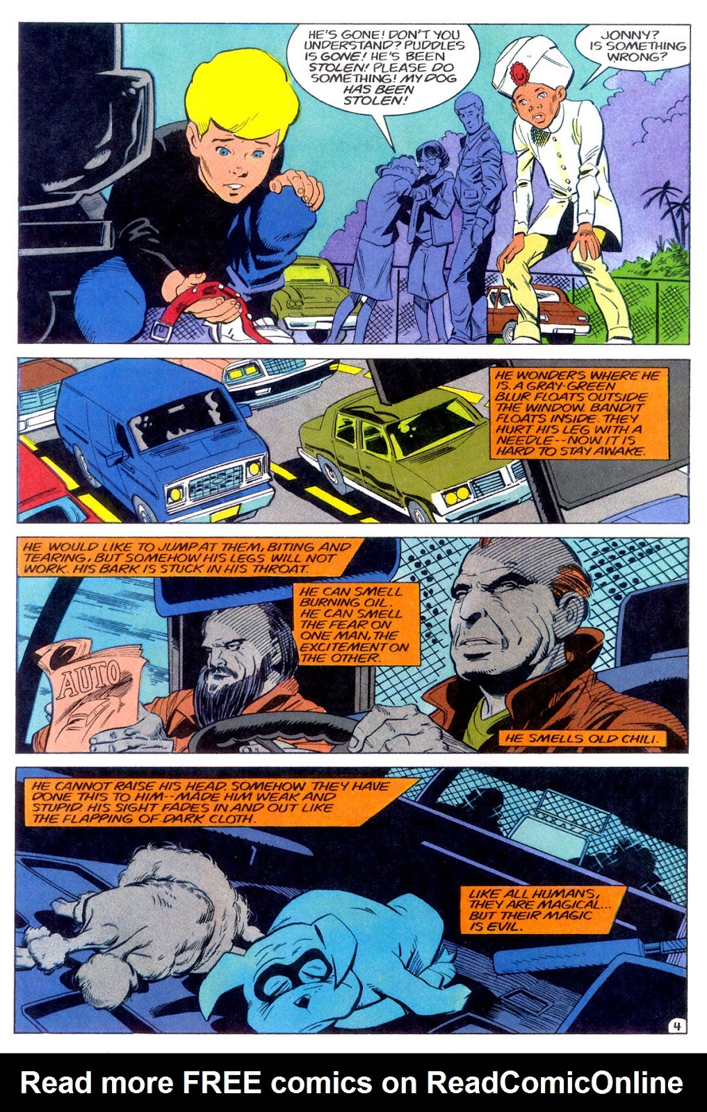 Jonny Quest (1986) issue 11 - Page 7