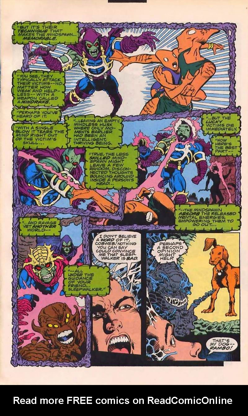 Read online Sleepwalker comic -  Issue #32 - 10