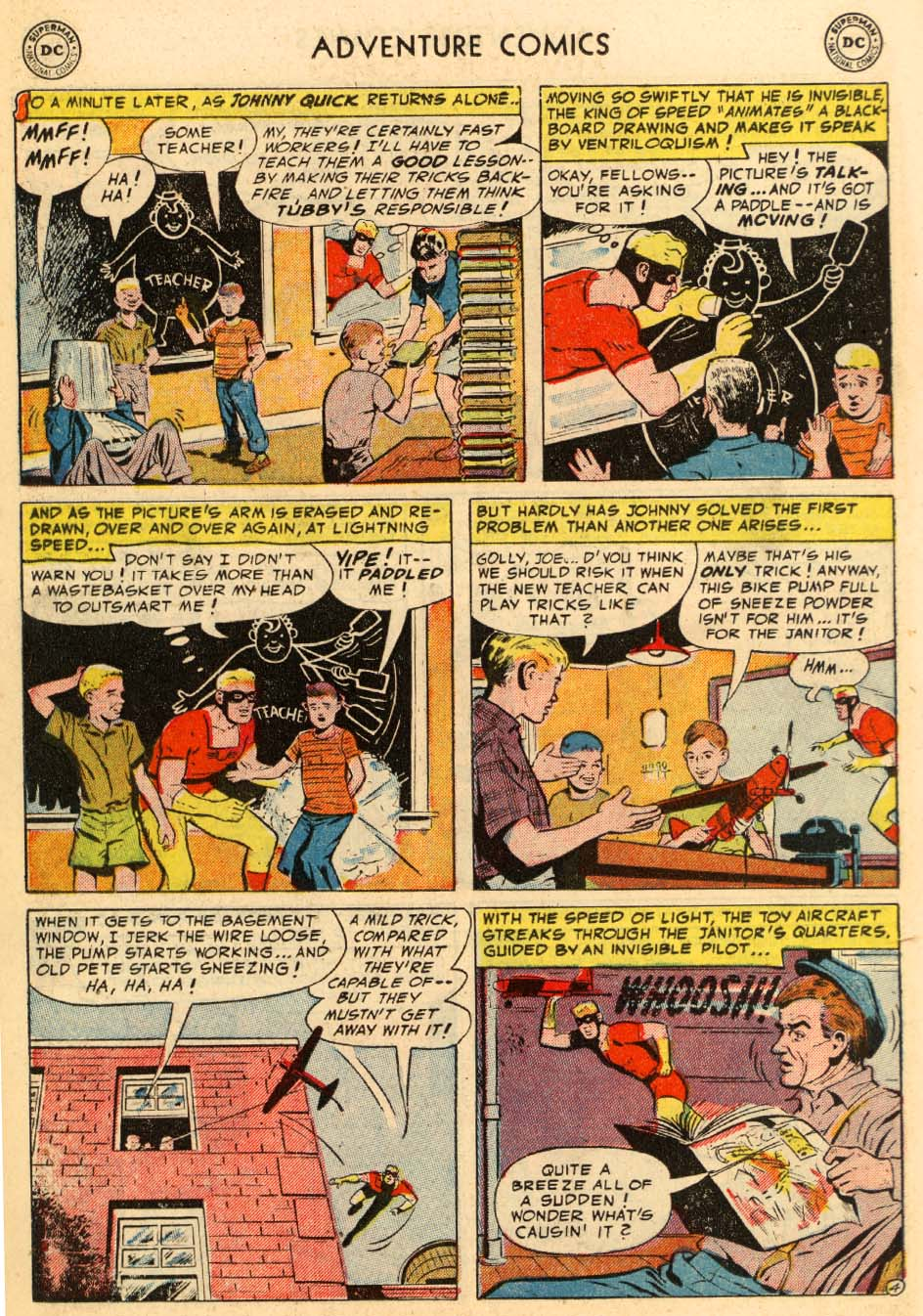 Read online Adventure Comics (1938) comic -  Issue #195 - 28