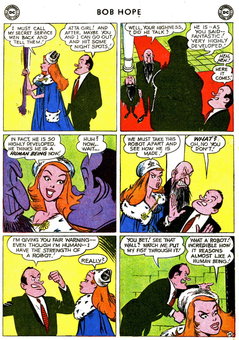 The Adventures of Bob Hope issue 68 - Page 30