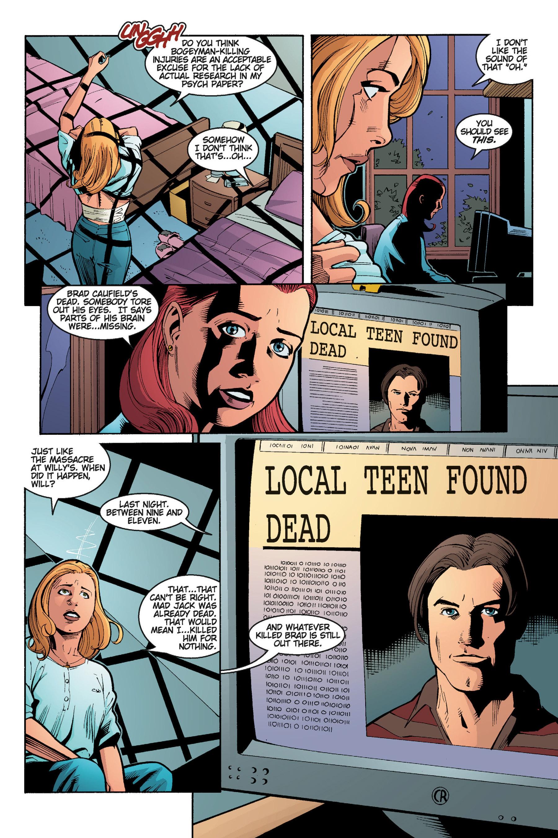 Read online Buffy the Vampire Slayer: Omnibus comic -  Issue # TPB 5 - 139