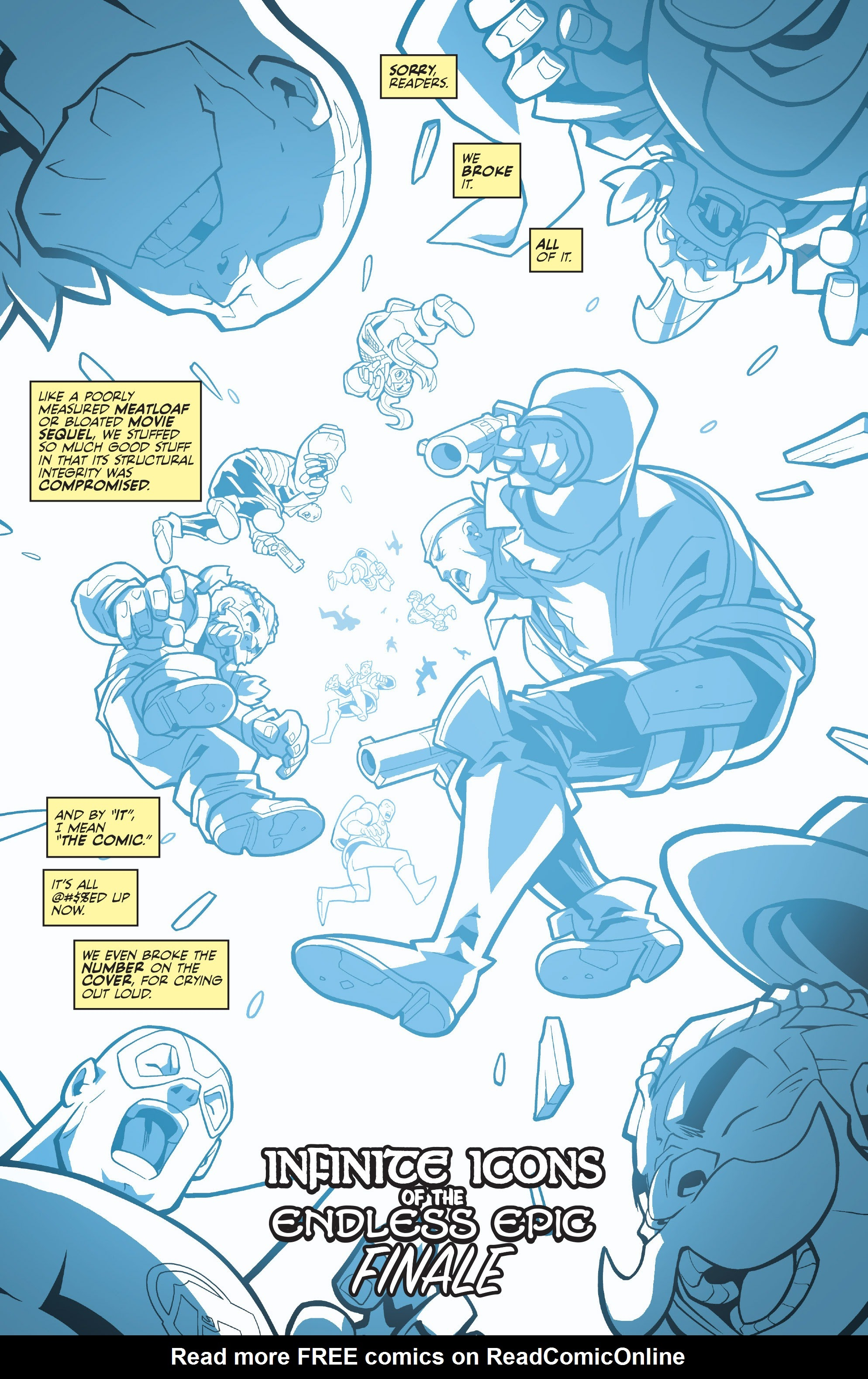 Read online Skullkickers comic -  Issue #100 - 3