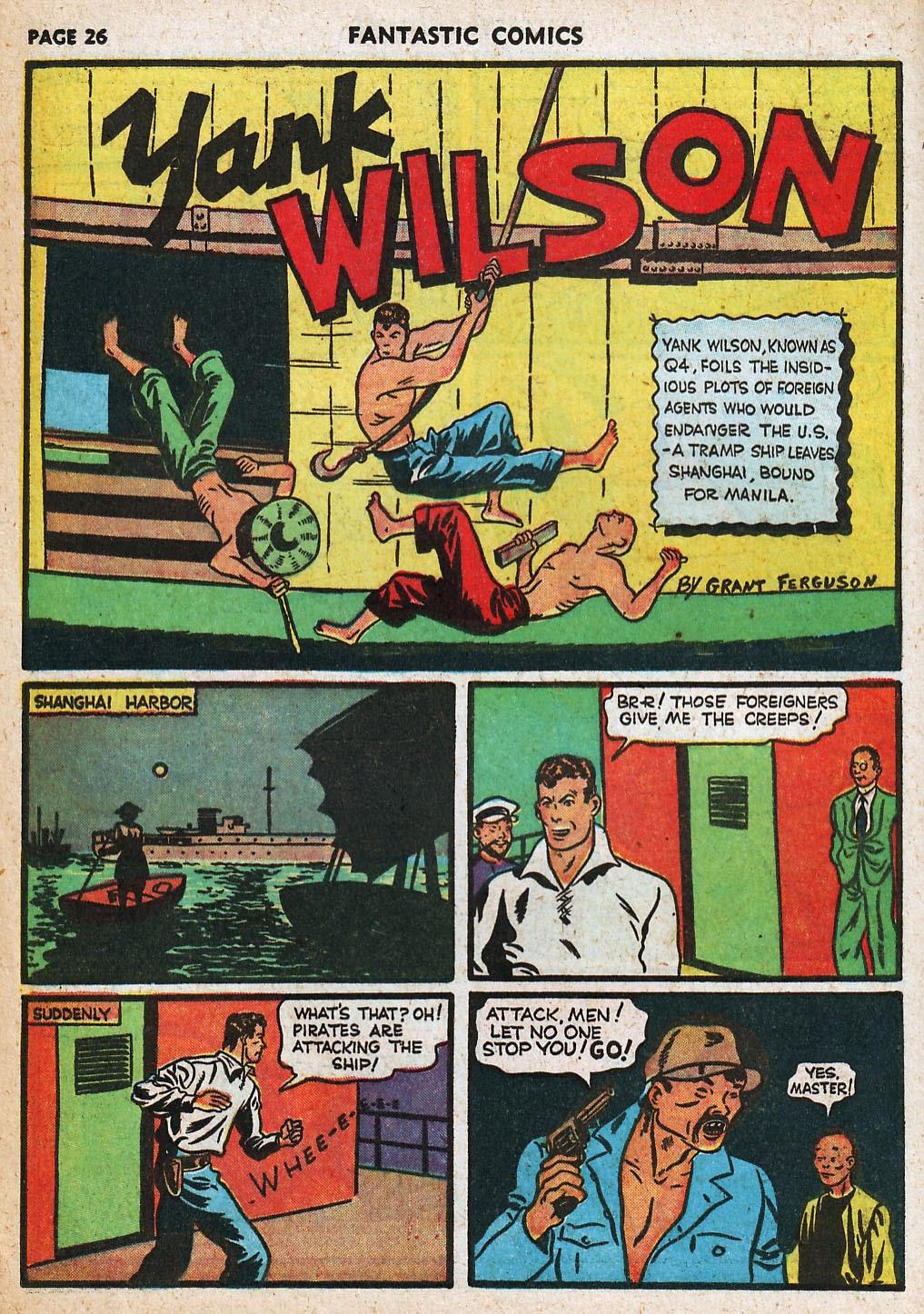 Read online Fantastic Comics comic -  Issue #20 - 27