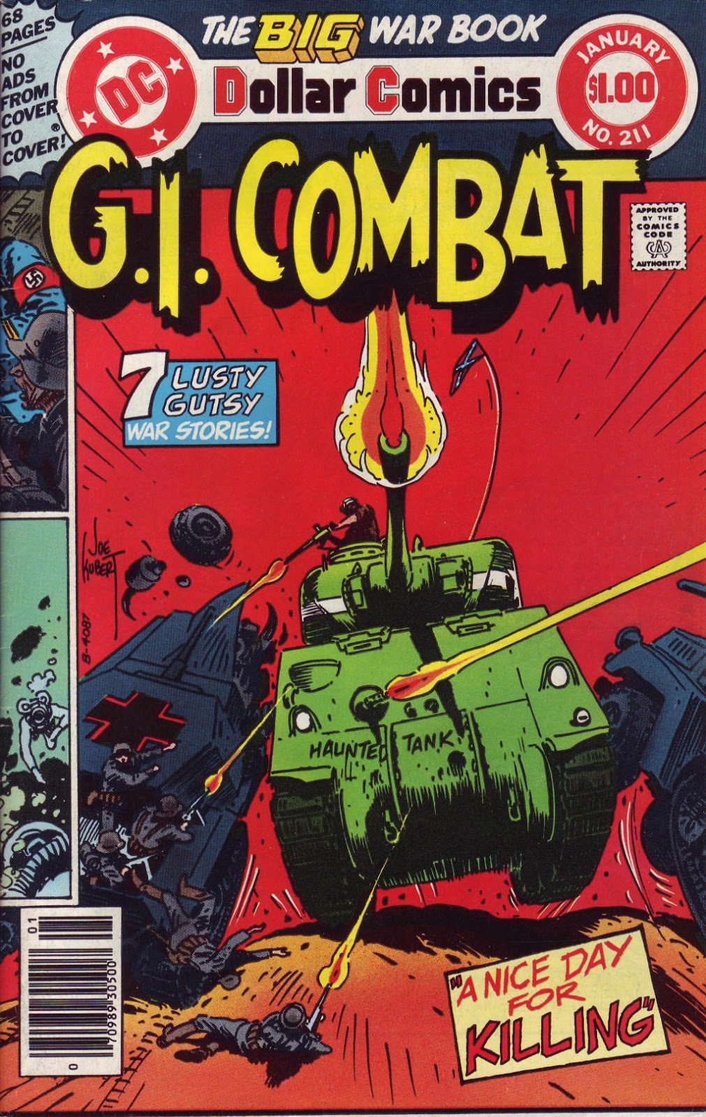 G.I. Combat (1952) issue 211 - Page 1
