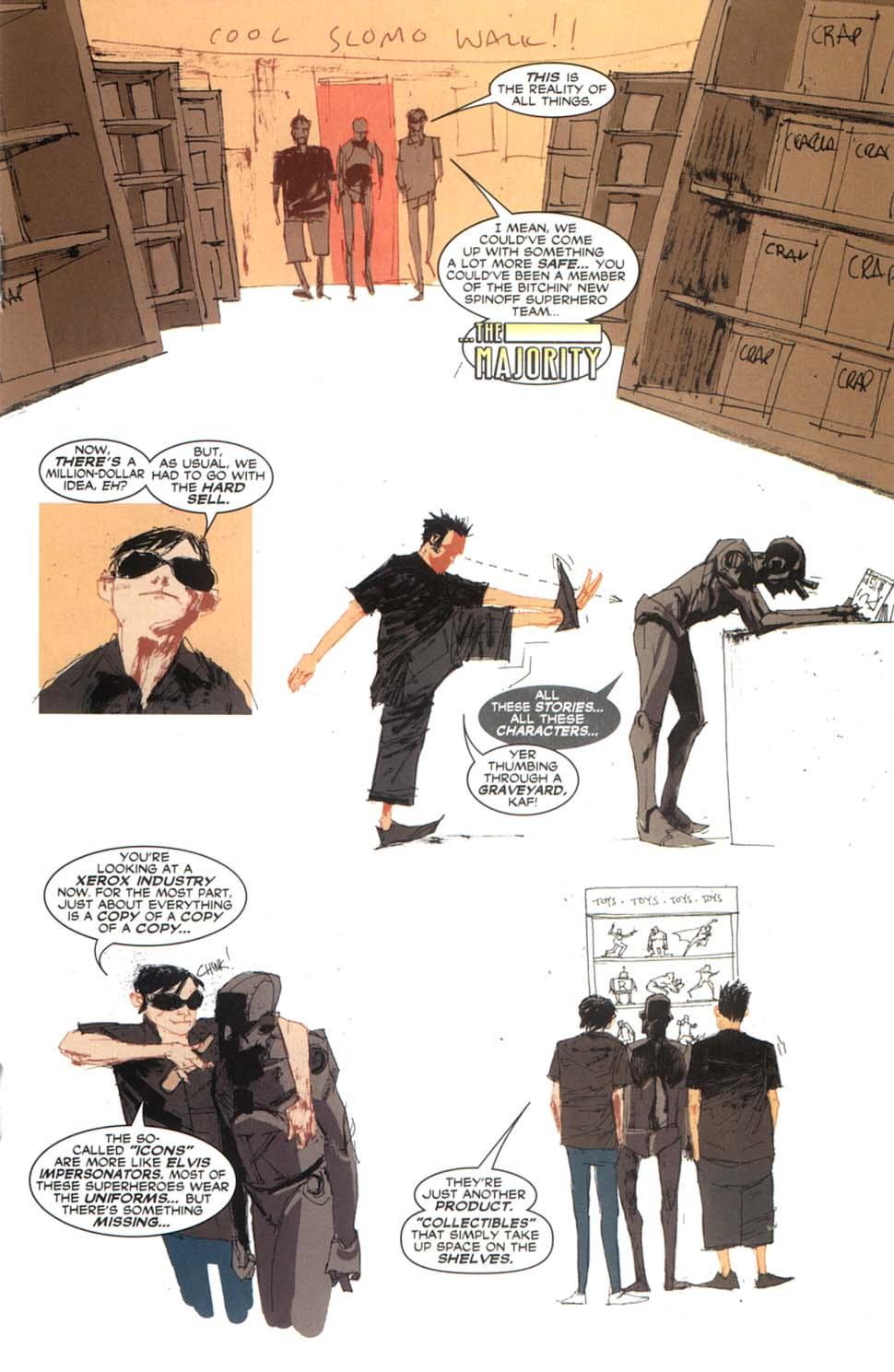 Read online Automatic Kafka comic -  Issue #9 - 14