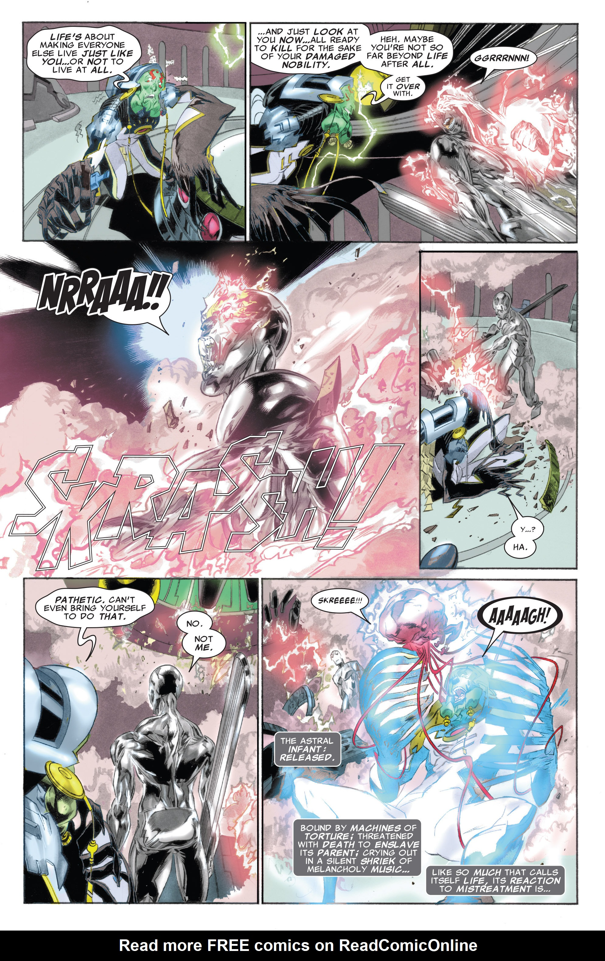 Read online Silver Surfer: In Thy Name comic -  Issue #4 - 20