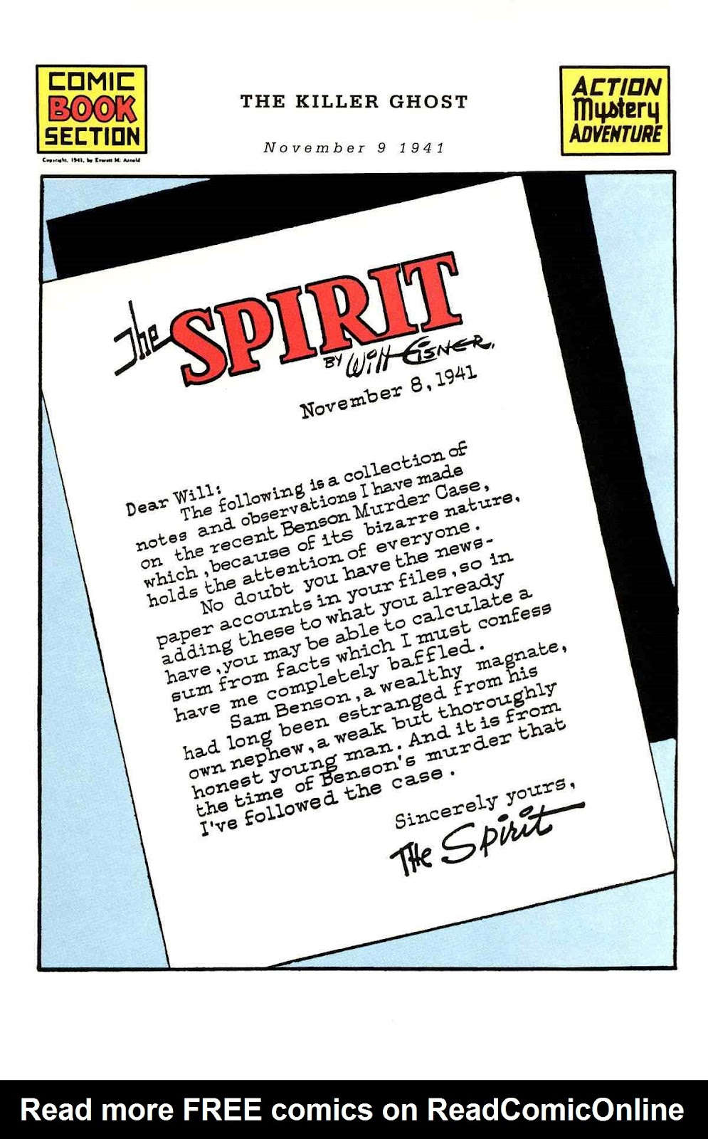 Read online Will Eisner's The Spirit Archives comic -  Issue # TPB 3 (Part 2) - 46
