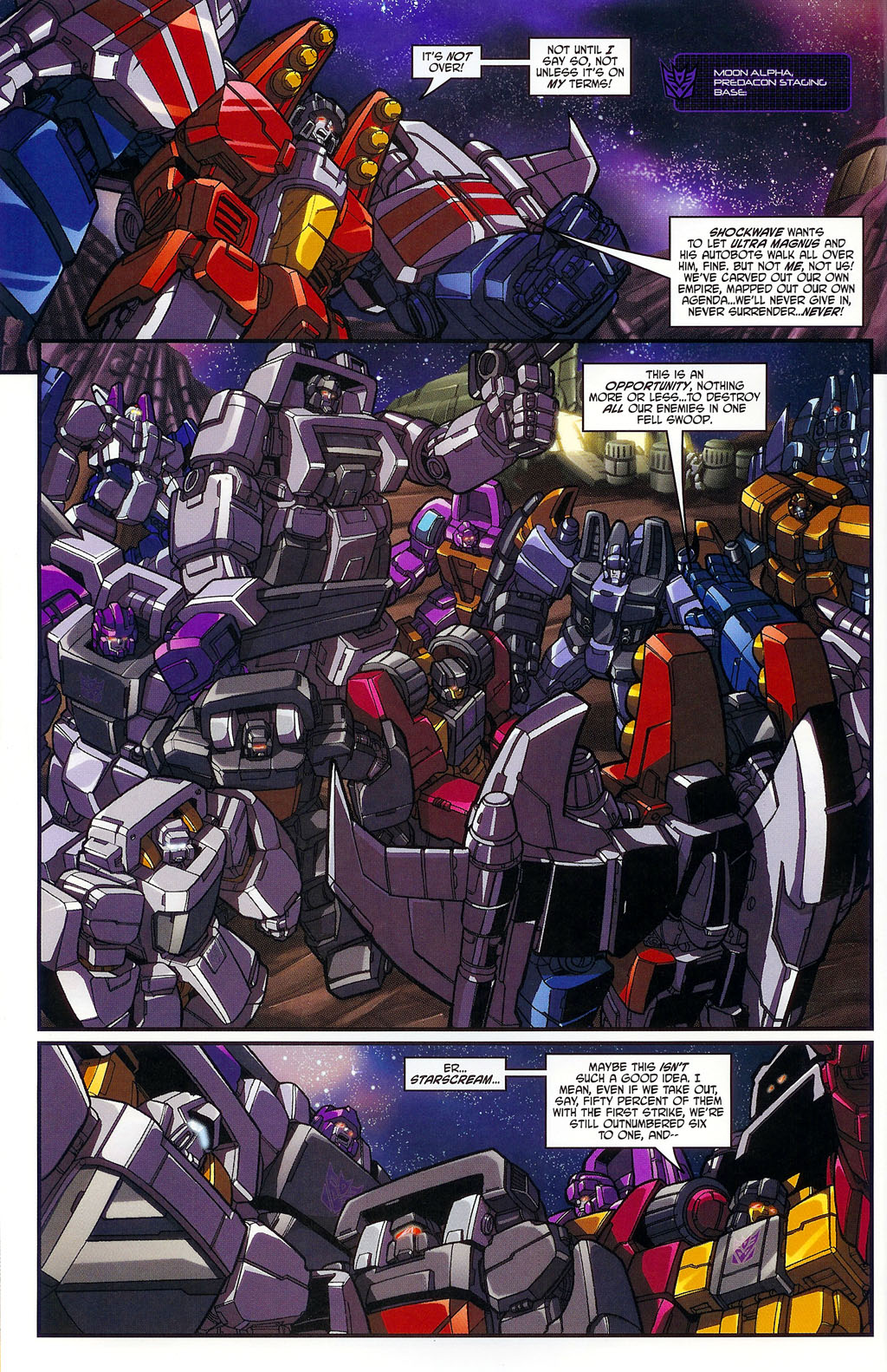 """Read online Transformers War Within: """"The Age of Wrath"""" comic -  Issue #1 - 8"""