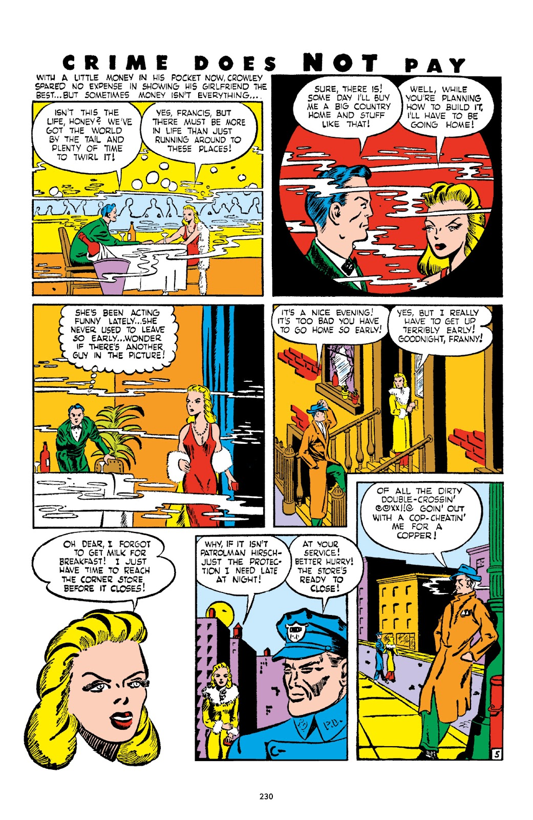 Read online Crime Does Not Pay Archives comic -  Issue # TPB 2 (Part 3) - 30