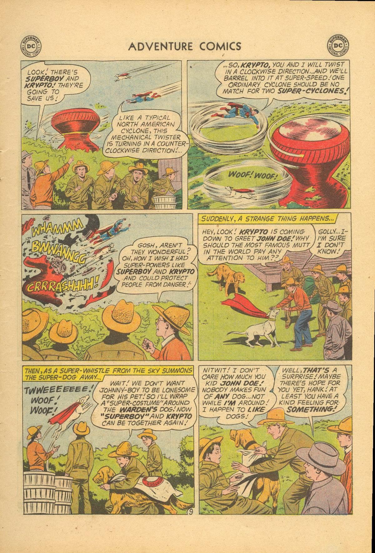 Read online Adventure Comics (1938) comic -  Issue #284 - 11