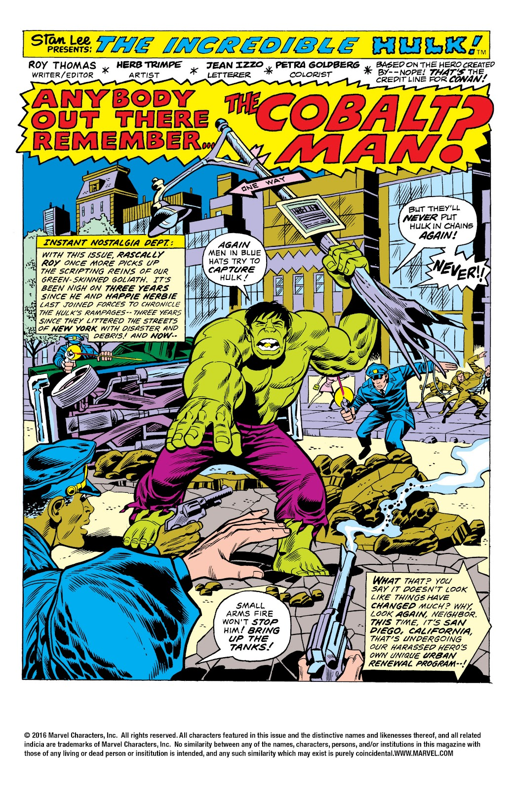 Read online Marvel Masterworks: The Incredible Hulk comic -  Issue # TPB 10 (Part 1) - 50