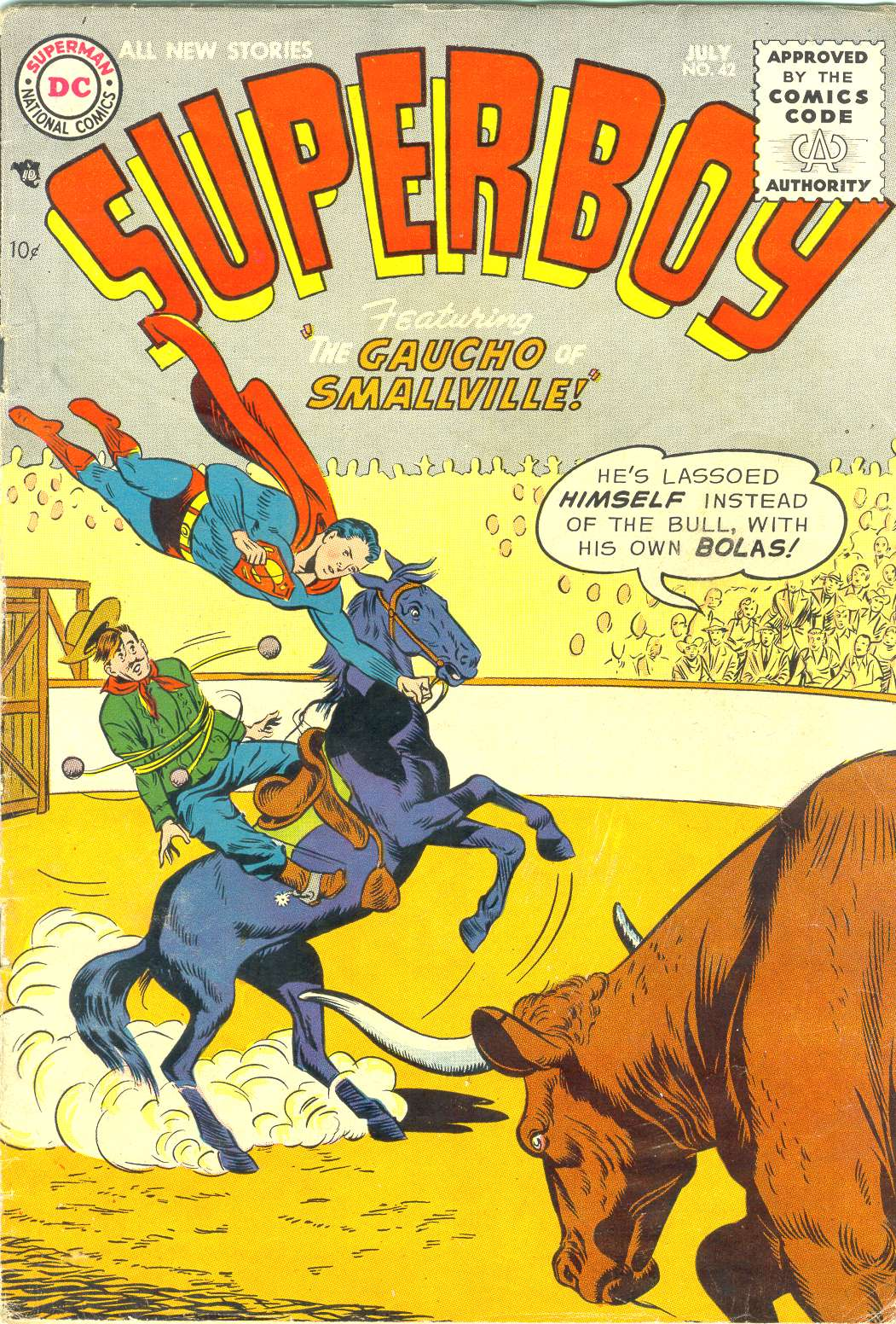 Superboy (1949) issue 42 - Page 1