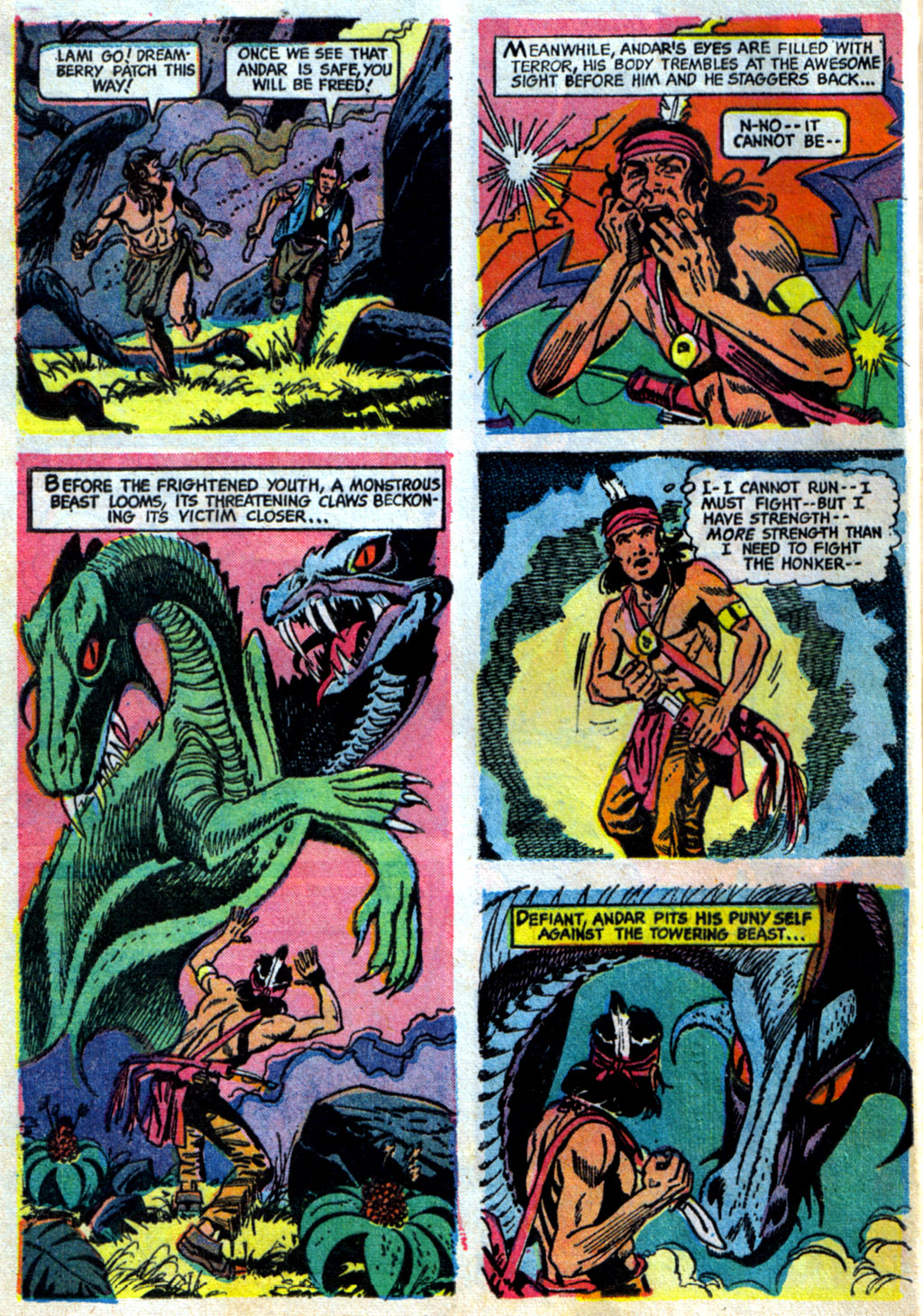 Read online Turok, Son of Stone comic -  Issue #62 - 24