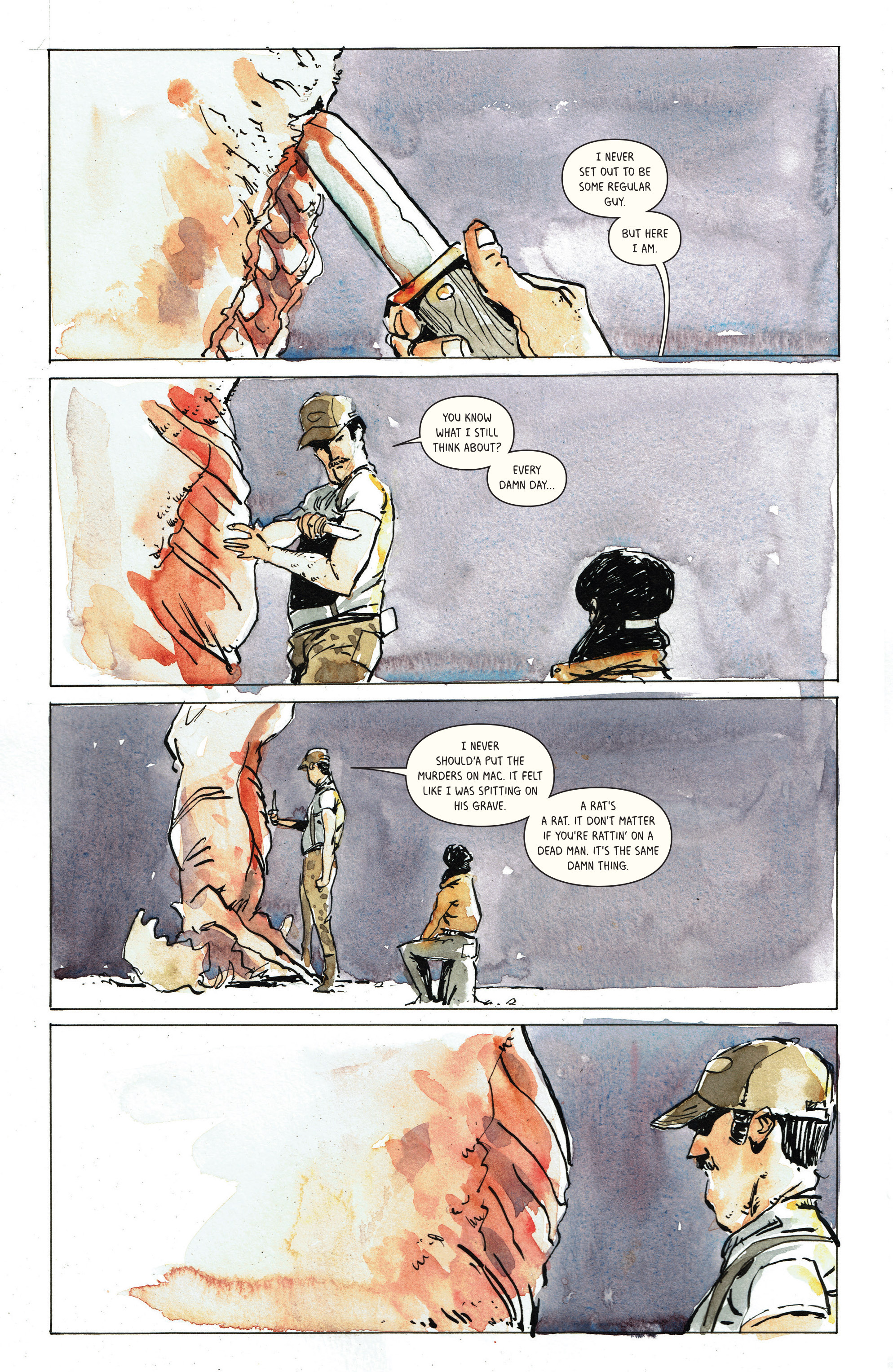 Read online Snow Blind comic -  Issue #3 - 22