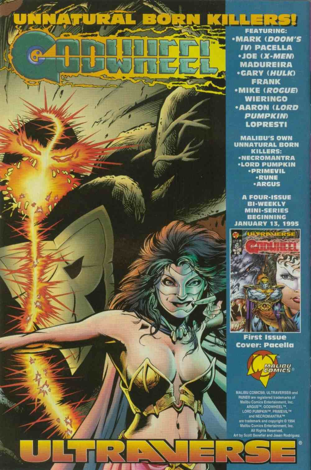 Read online Ultraverse Premiere comic -  Issue #8 - 12