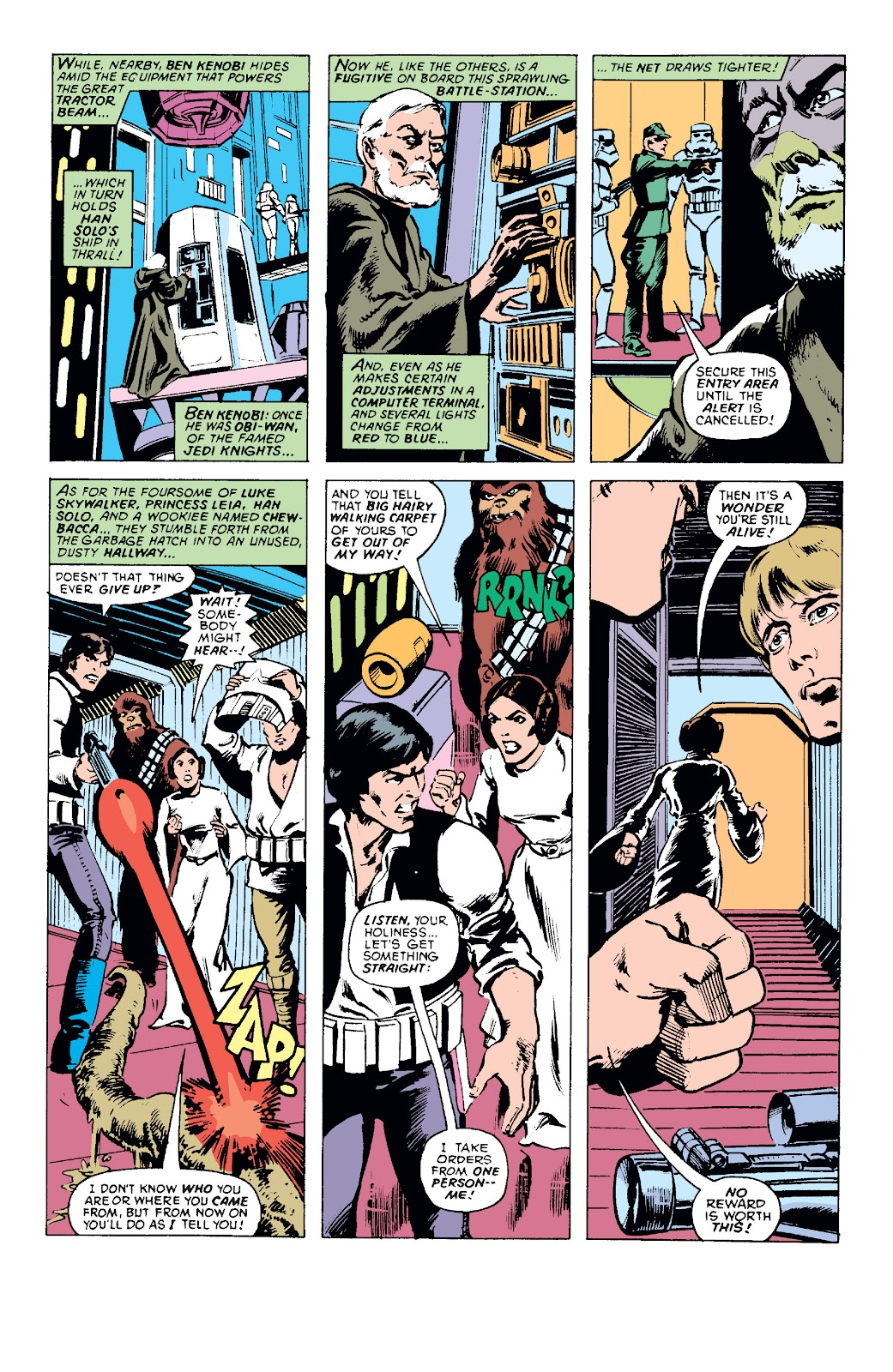 Read online Star Wars Legends: The Original Marvel Years - Epic Collection comic -  Issue # TPB 1 (Part 1) - 69