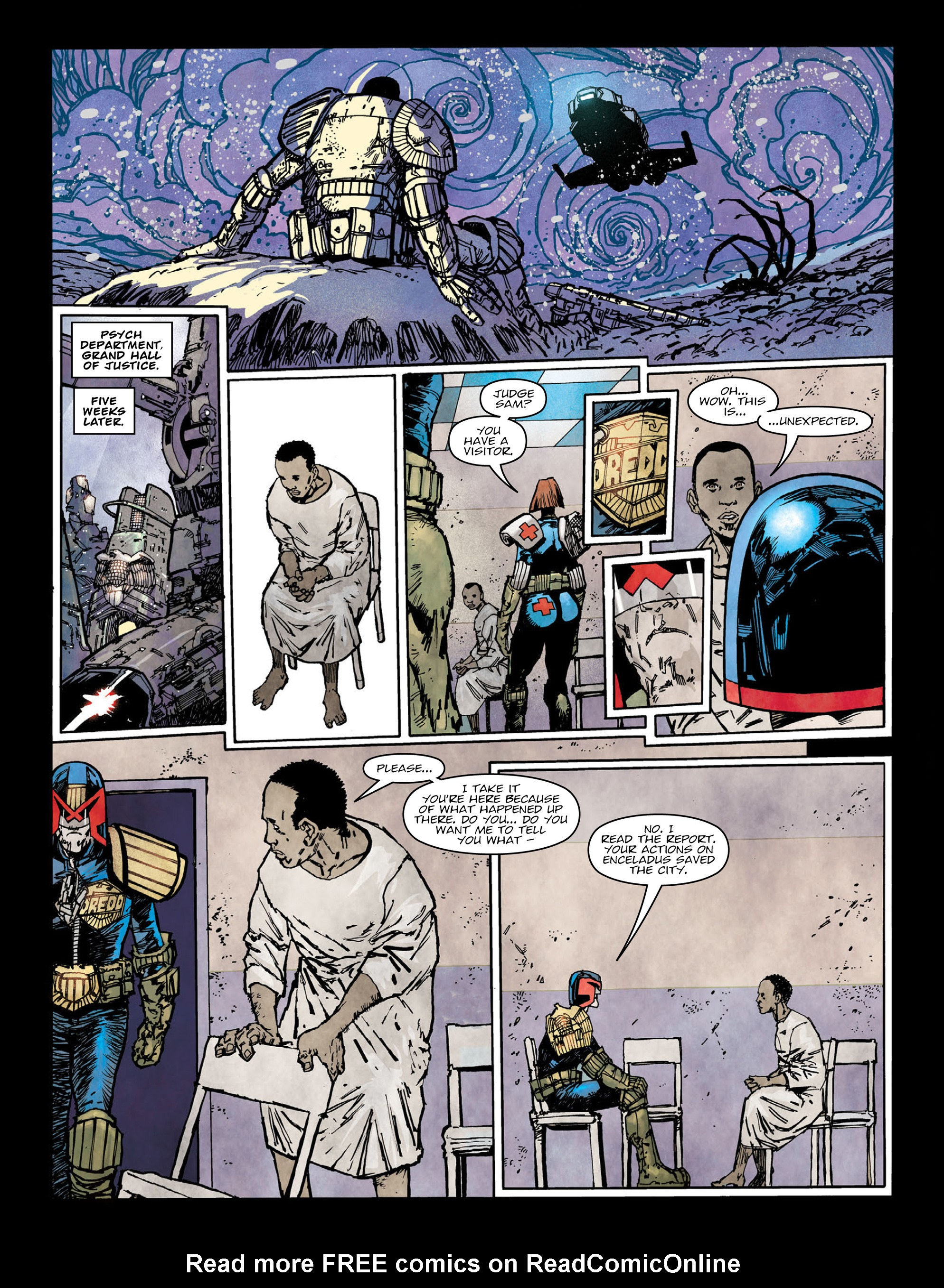 Read online 2000 AD comic -  Issue #2004 - 5