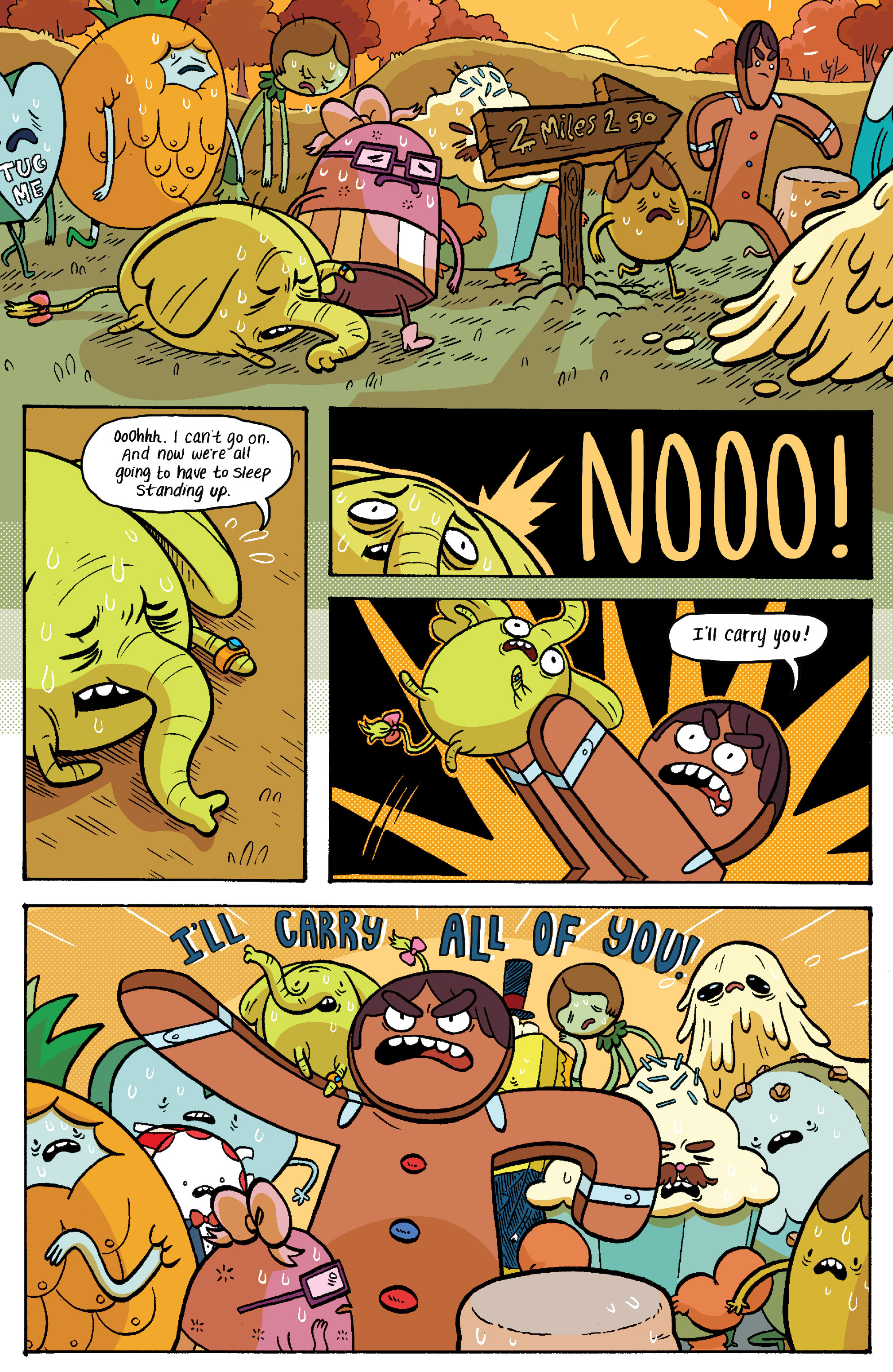 Read online Adventure Time: Banana Guard Academ comic -  Issue #2 - 16