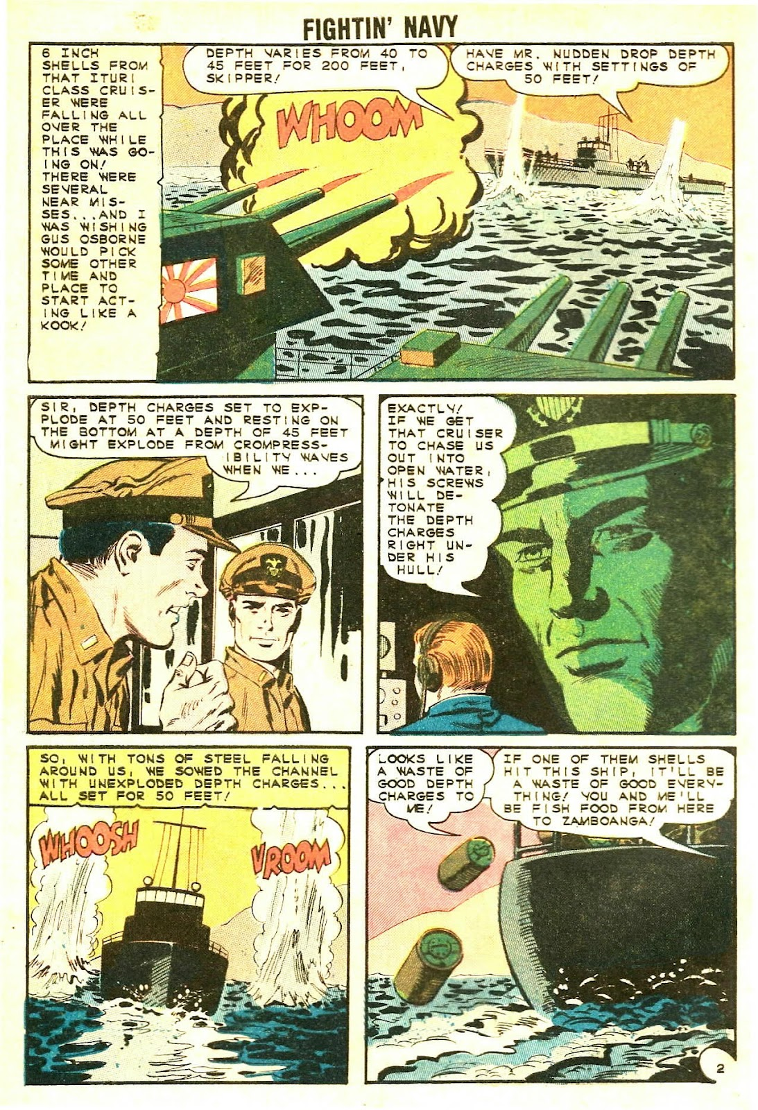 Read online Fightin' Navy comic -  Issue #118 - 4