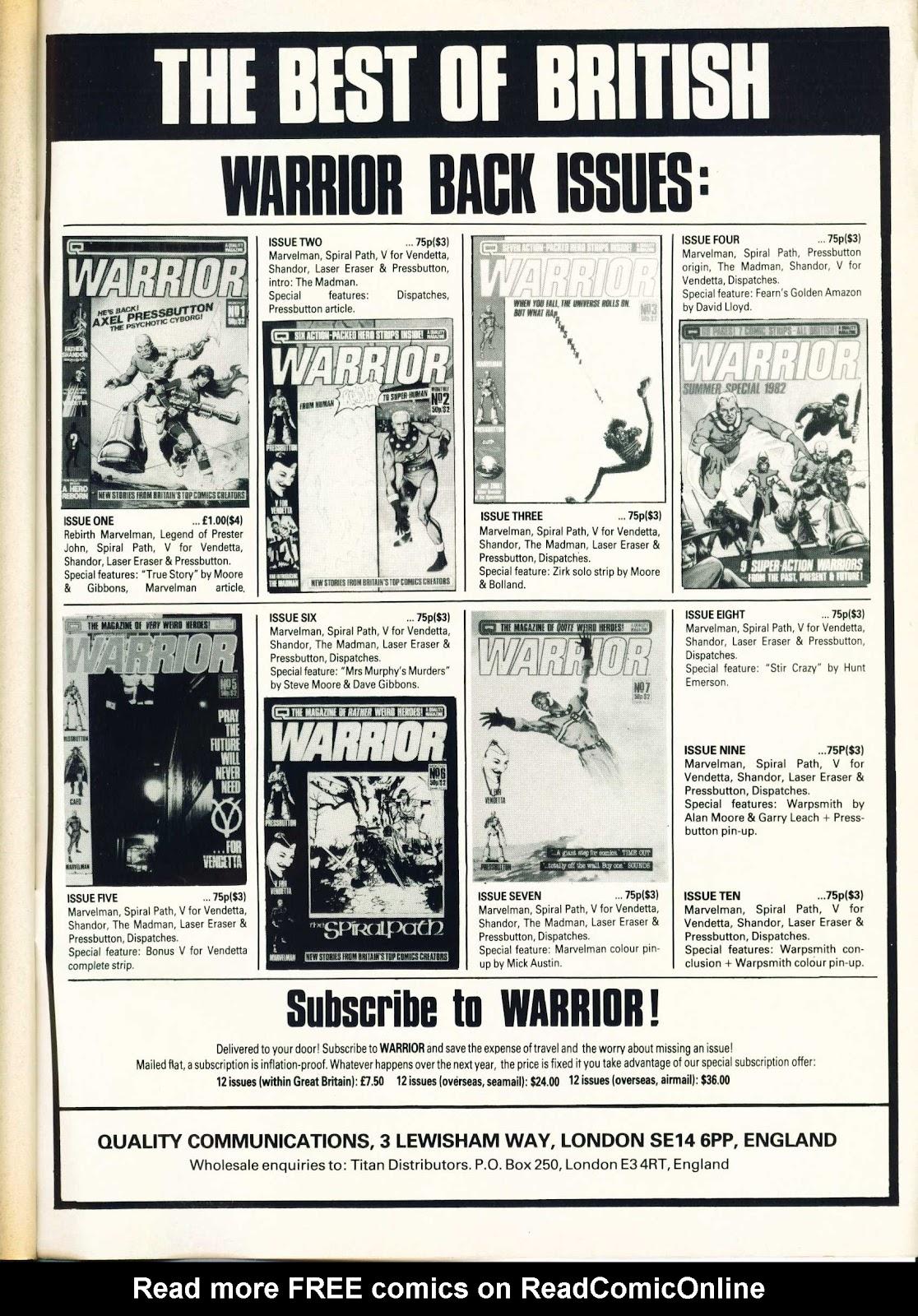 Warrior Issue #11 #12 - English 51